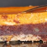 Squash Cheesecake Brownie Bars