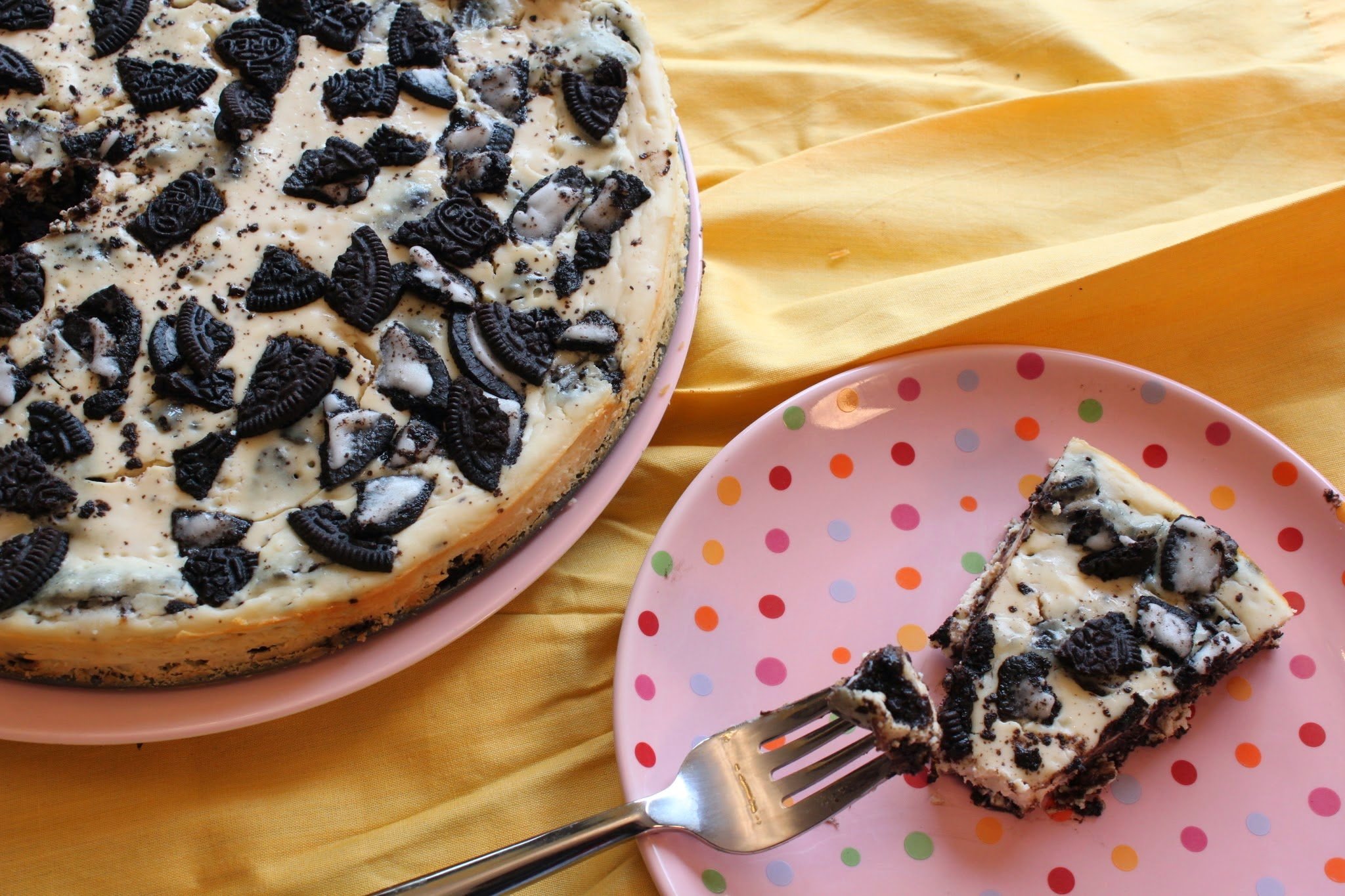 Skinny Oreo Cheesecake