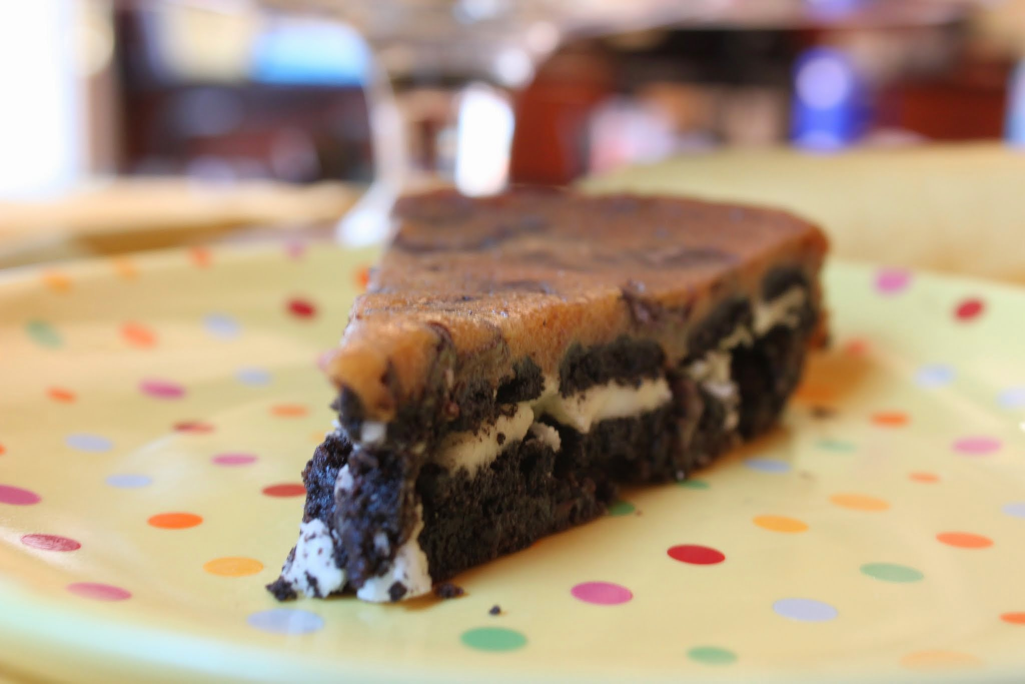 Gluten-Free Chocolate Chip Cookie Cake