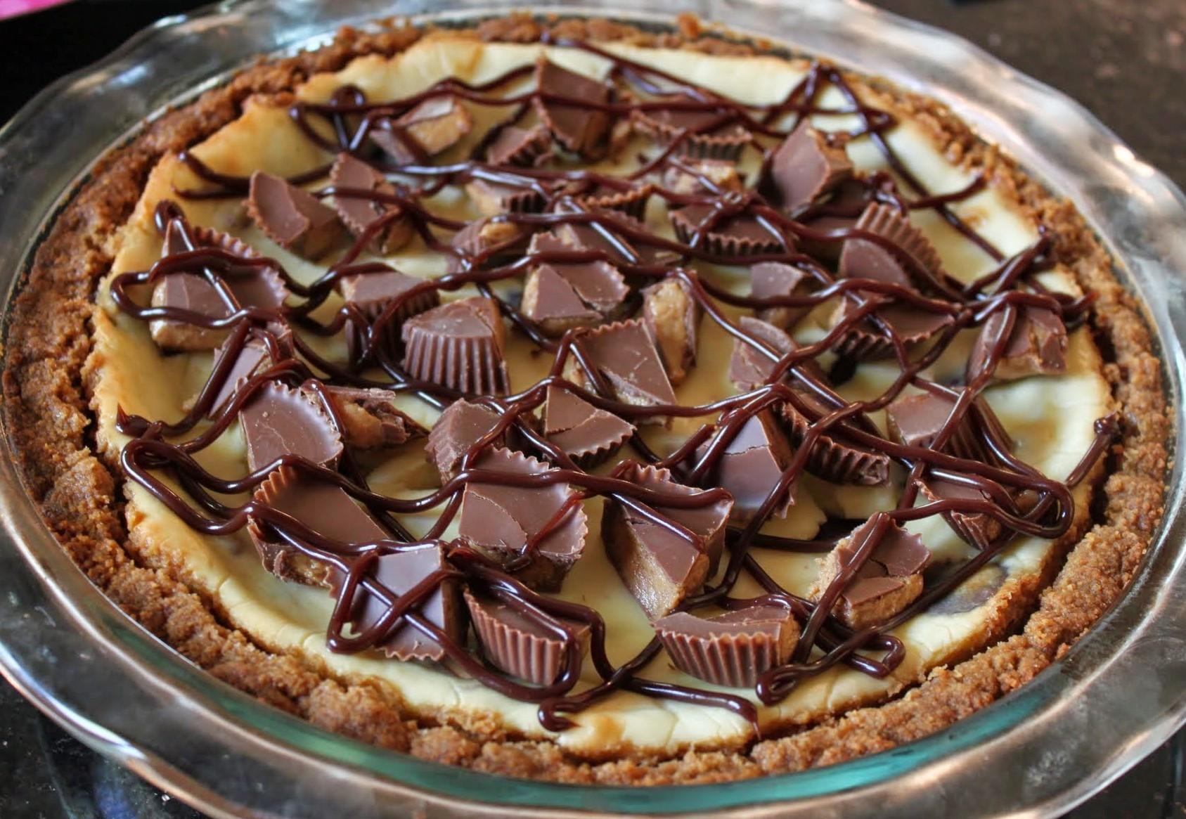 Peanut Butter Cup Cheesepake