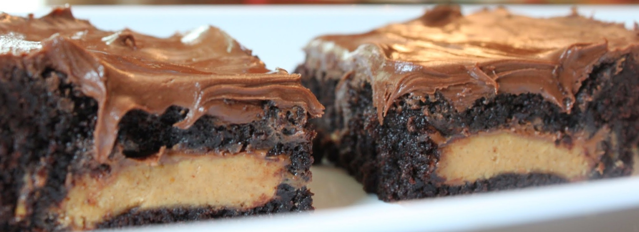 Peanut Butter Cup Stuffed Brownies