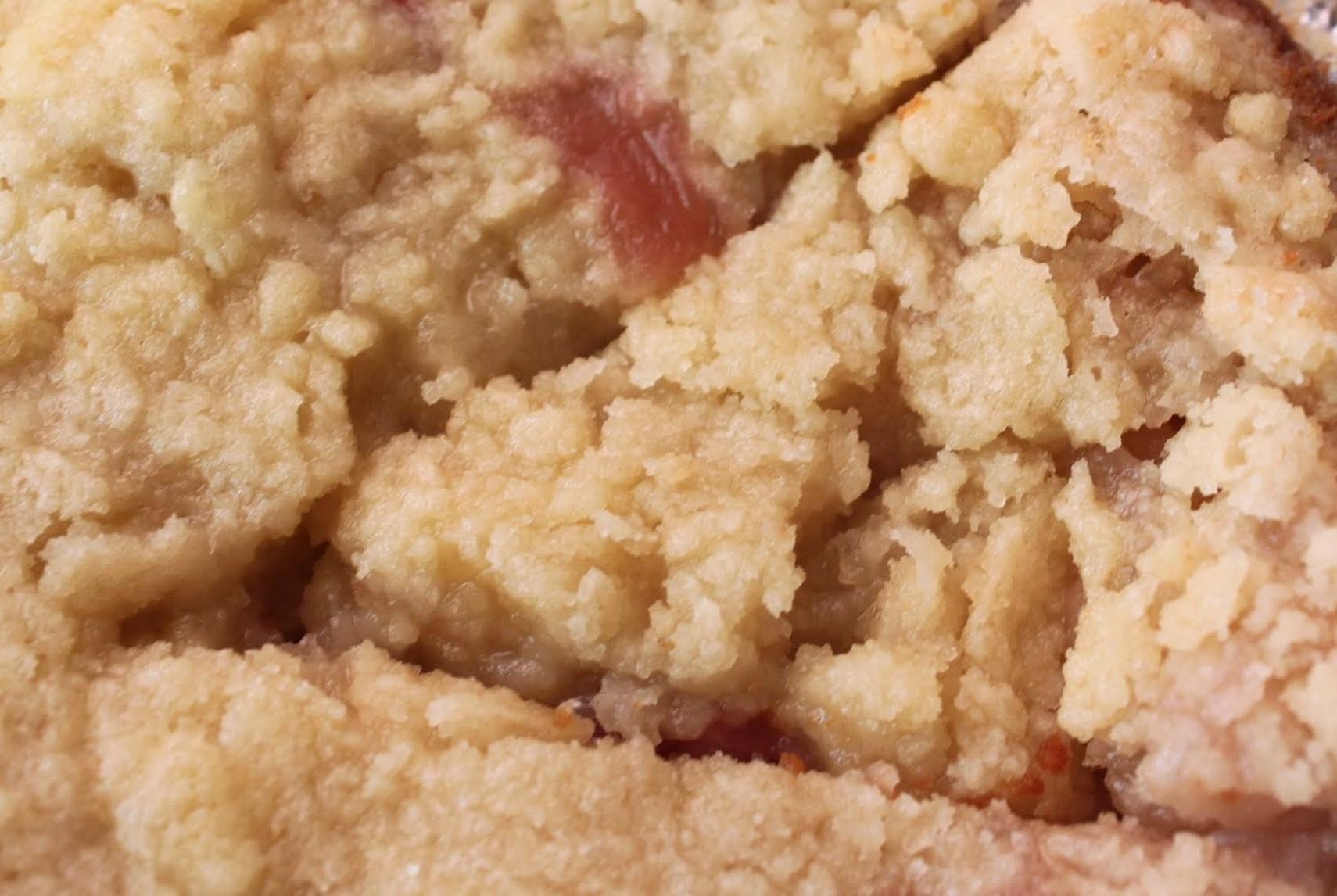 Nectarine Crumb Pie