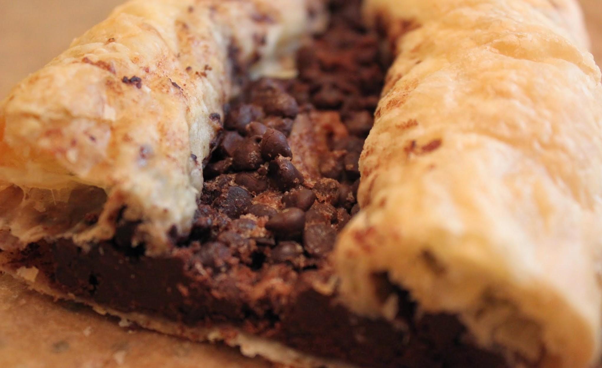 Chocolate Cinnamon Pastry Strips