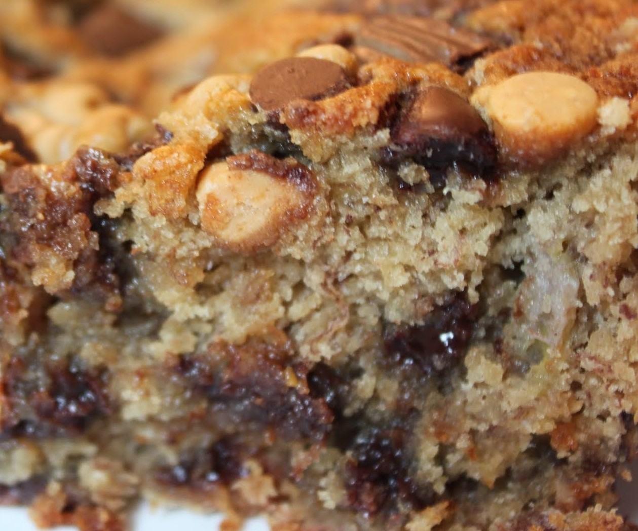 Loaded Peanut Butter Banana Bread