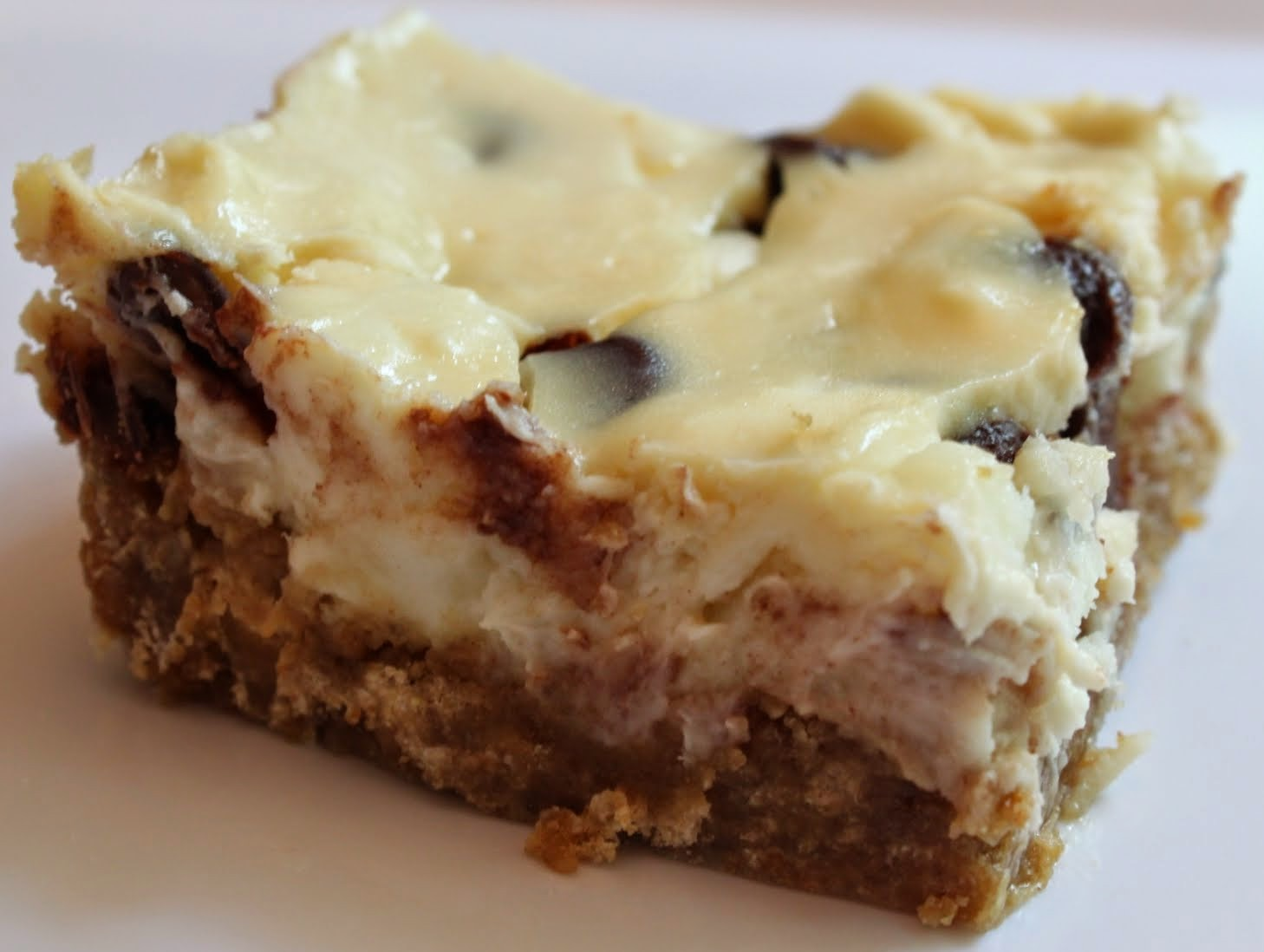 Skinnier Cheesecake Bars