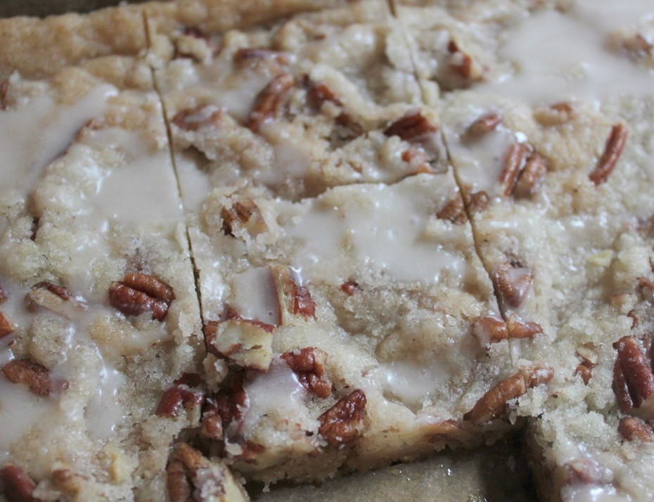 Cinnamon Pecan Crunch Bars