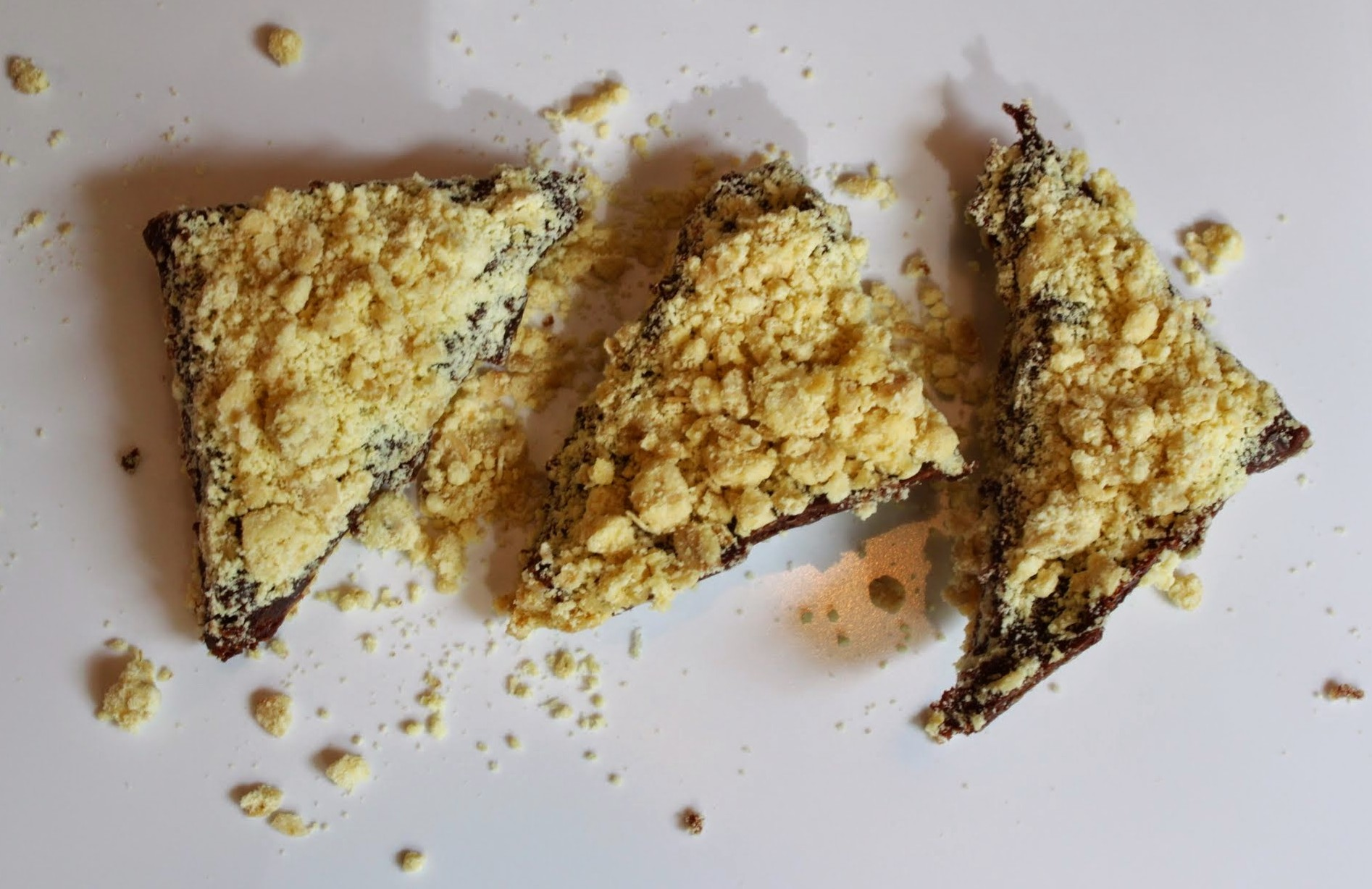 Fudge Crumb Bars