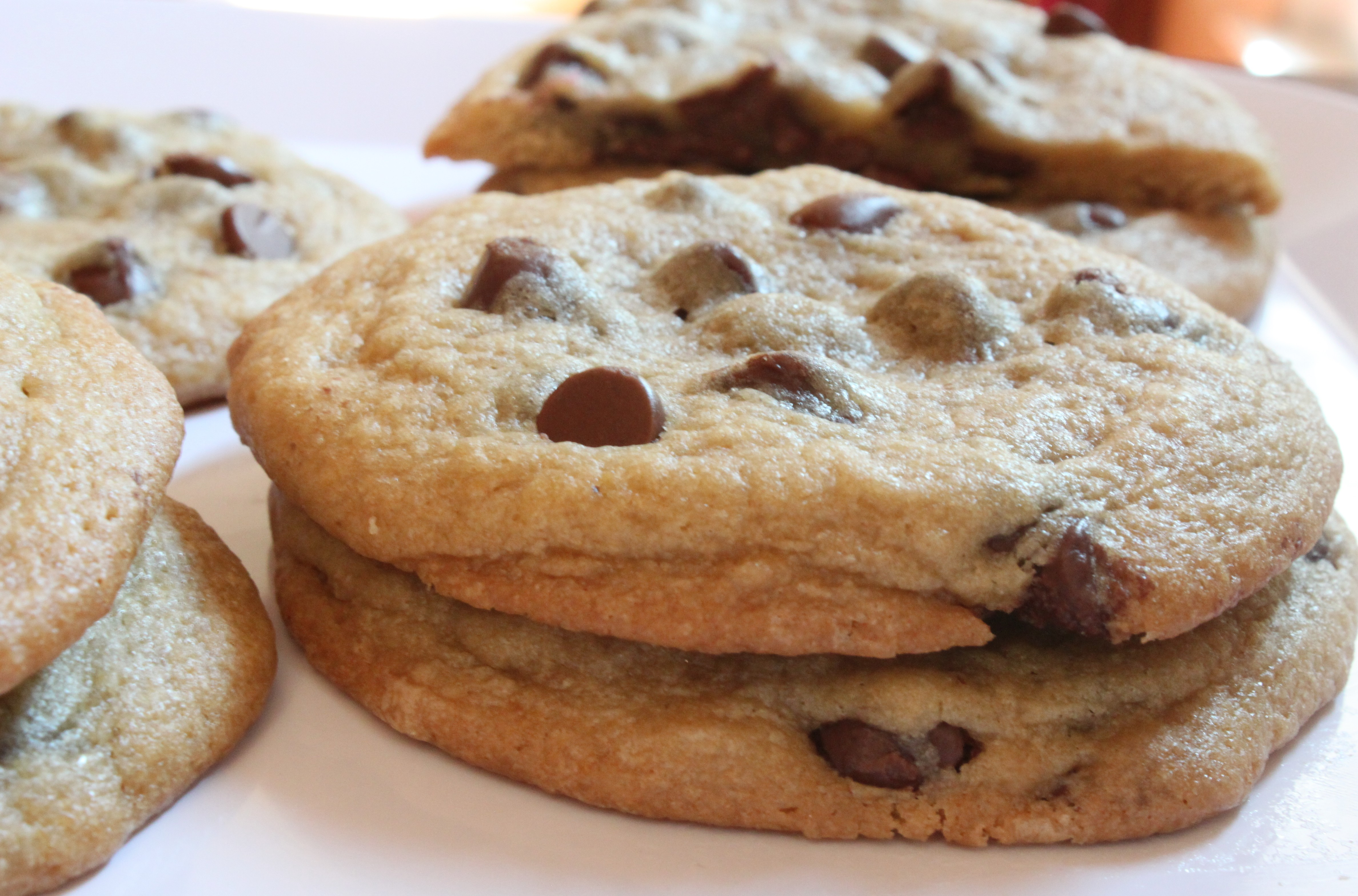 Bakery-Sized Chocolate Chip Cookies