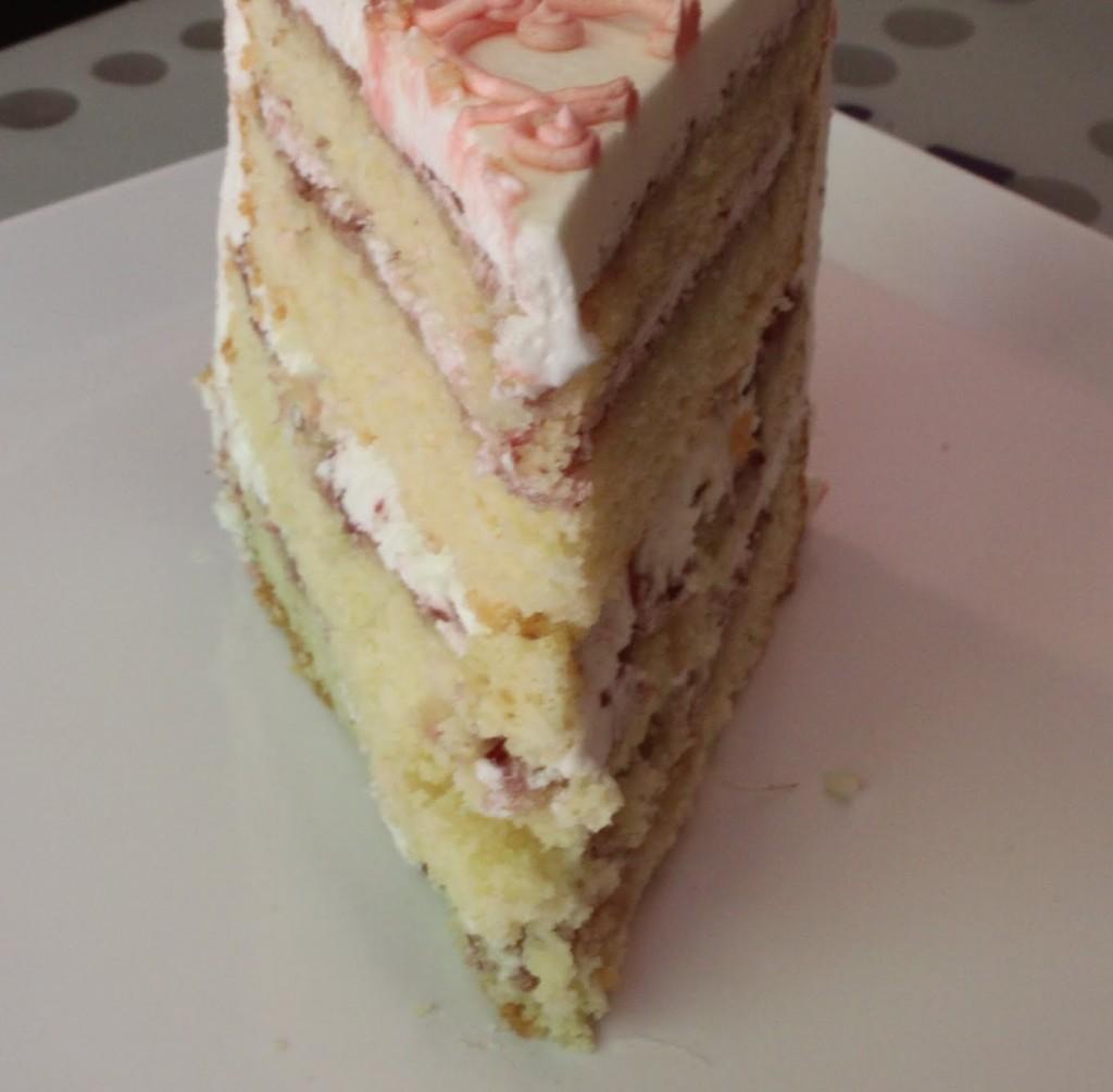 Raspberry Almond Pound Cake