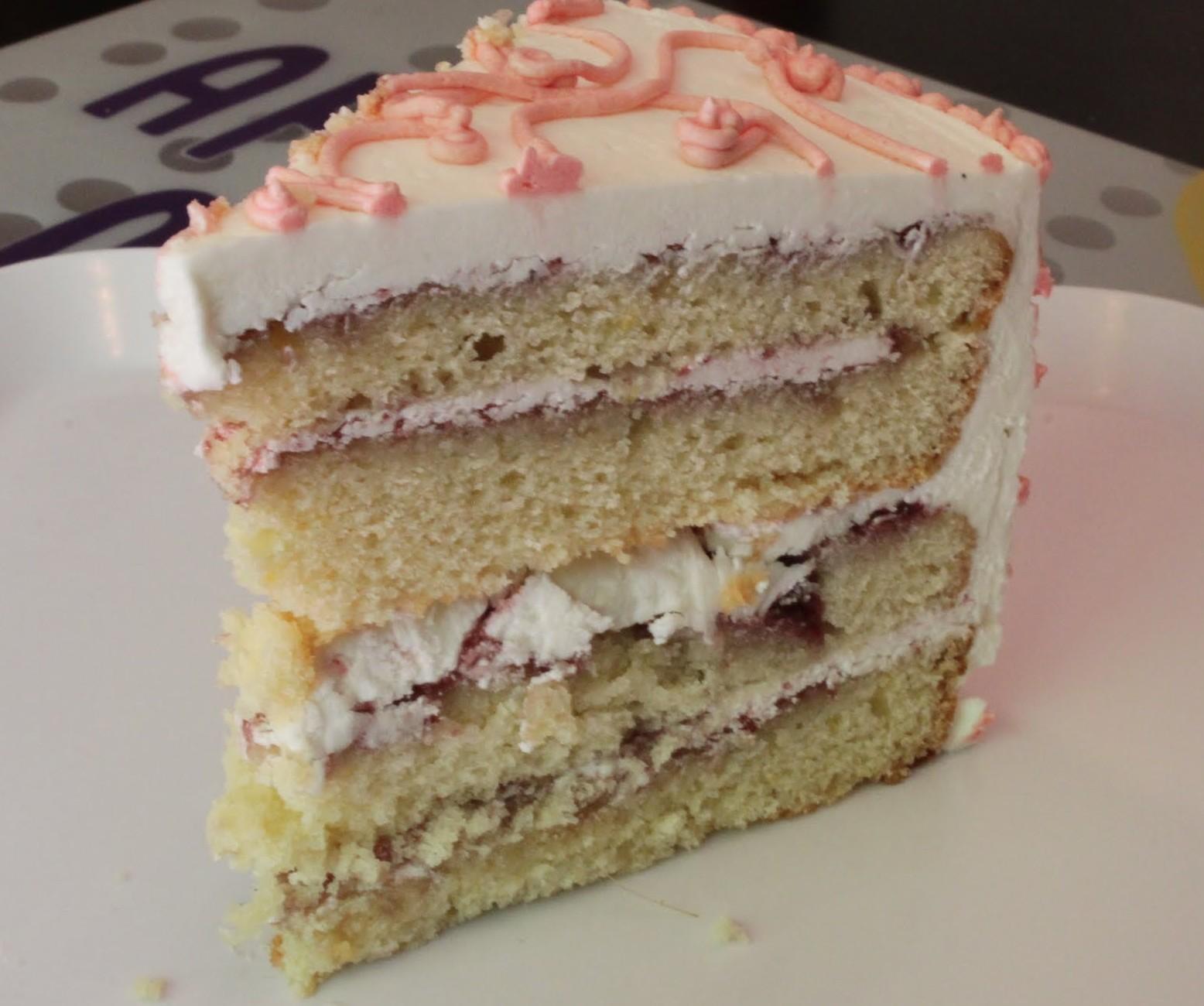 white cake white chocolate macadamia cake raspberry layer cake cake ...