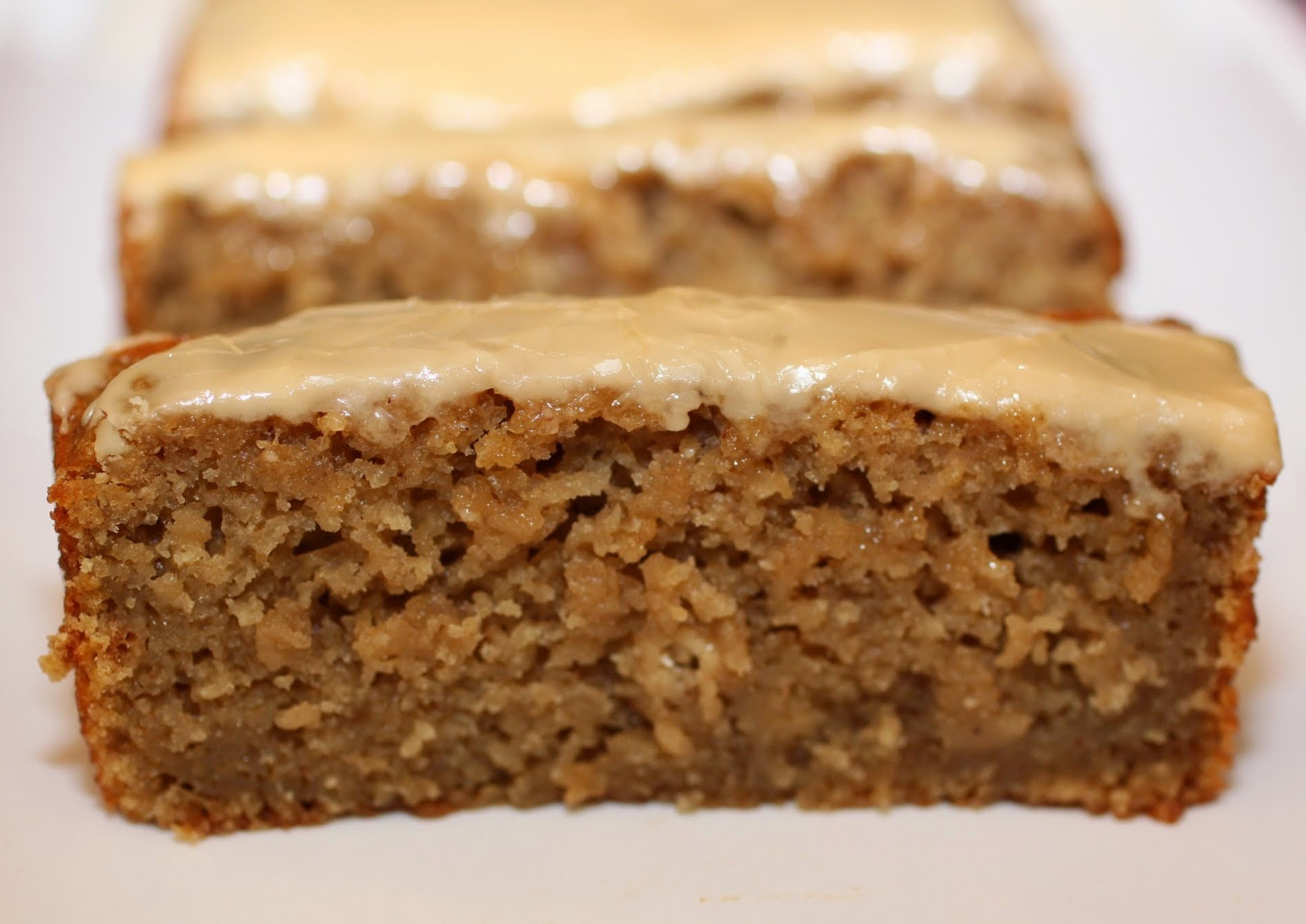 Maple-Glazed Applesauce Bread