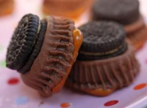Peanut Butter Candy Pretzels