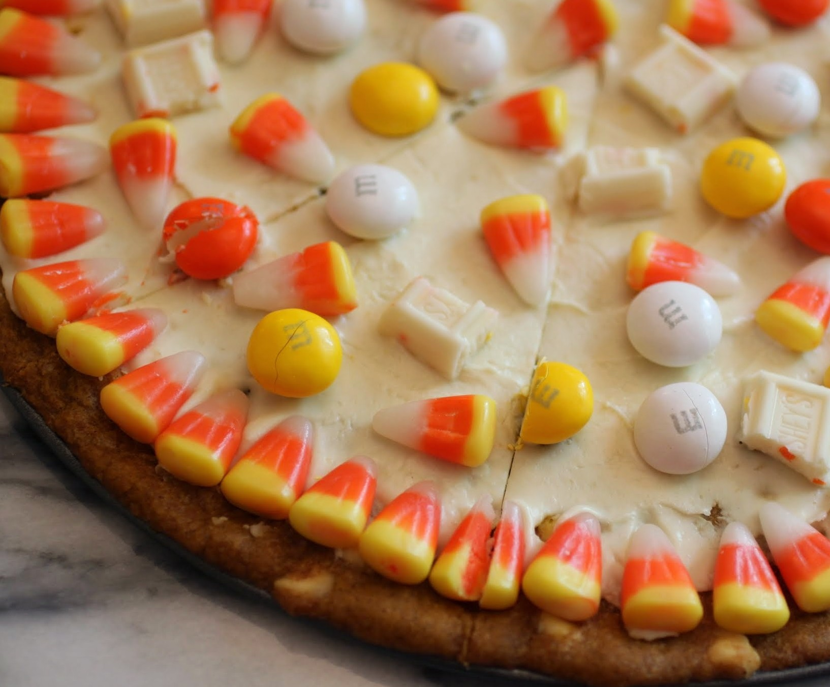 Autumn Candy Pizza