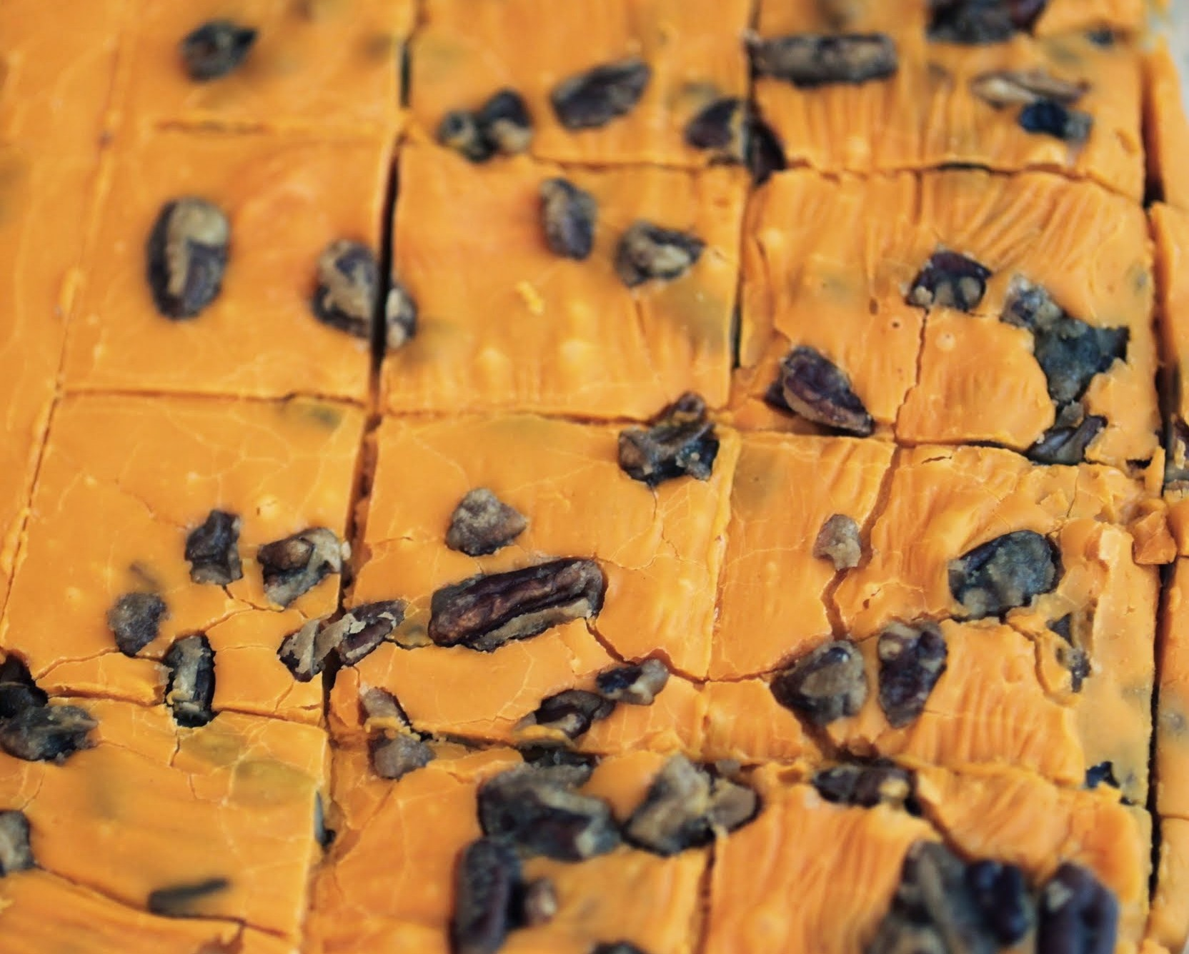 Caramelized Pecan And Pumpkin Fudge