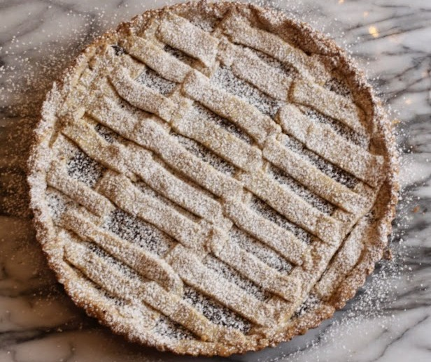 Chocolate Linzer Tart