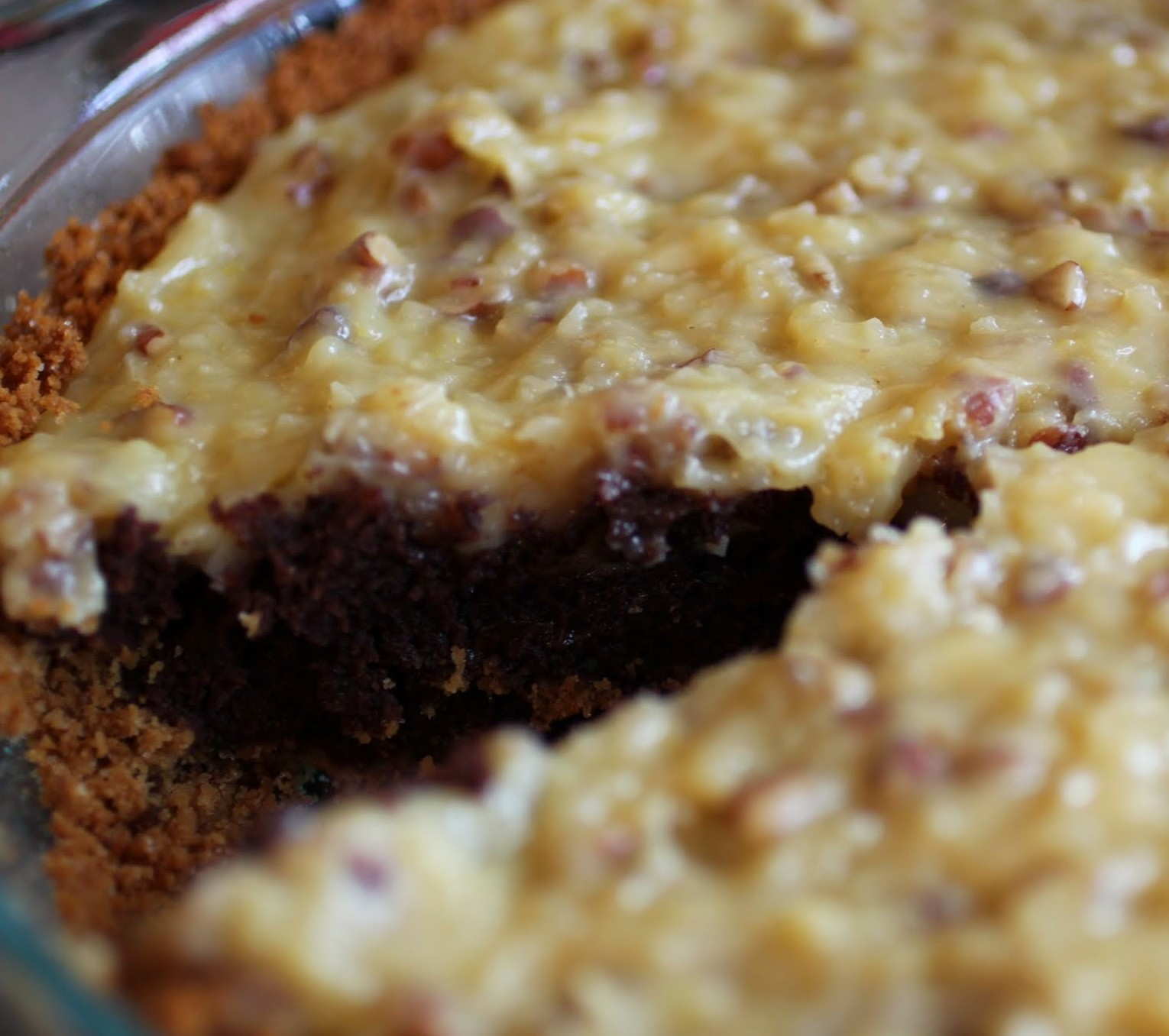 German Chocolate Pie | Just About Baked