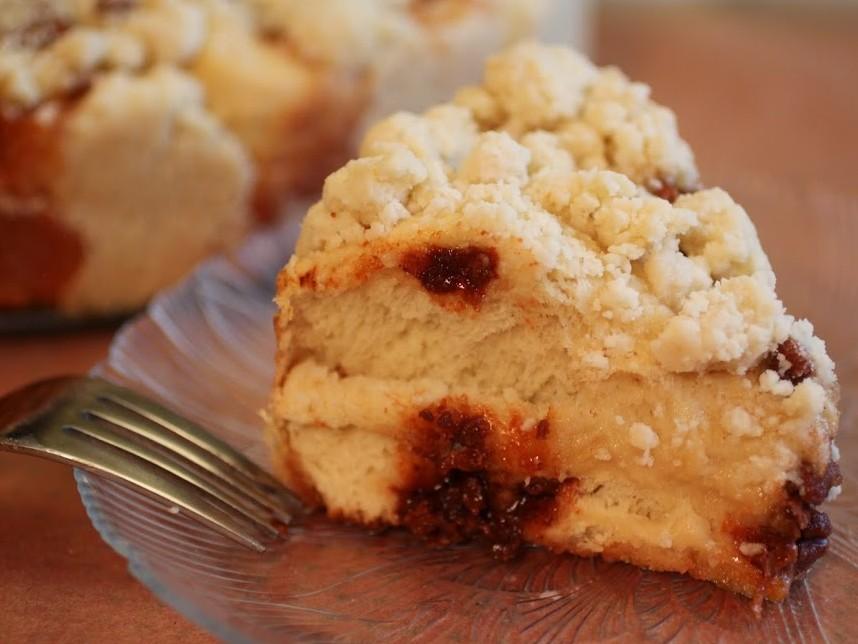 Cinnamon Crumb Babka