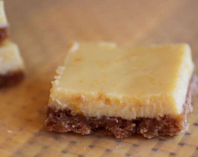 Meyer Lemon Pie Bars