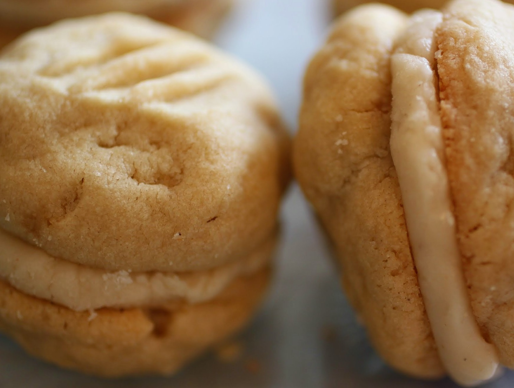 Browned Butter Sandwich Cookies