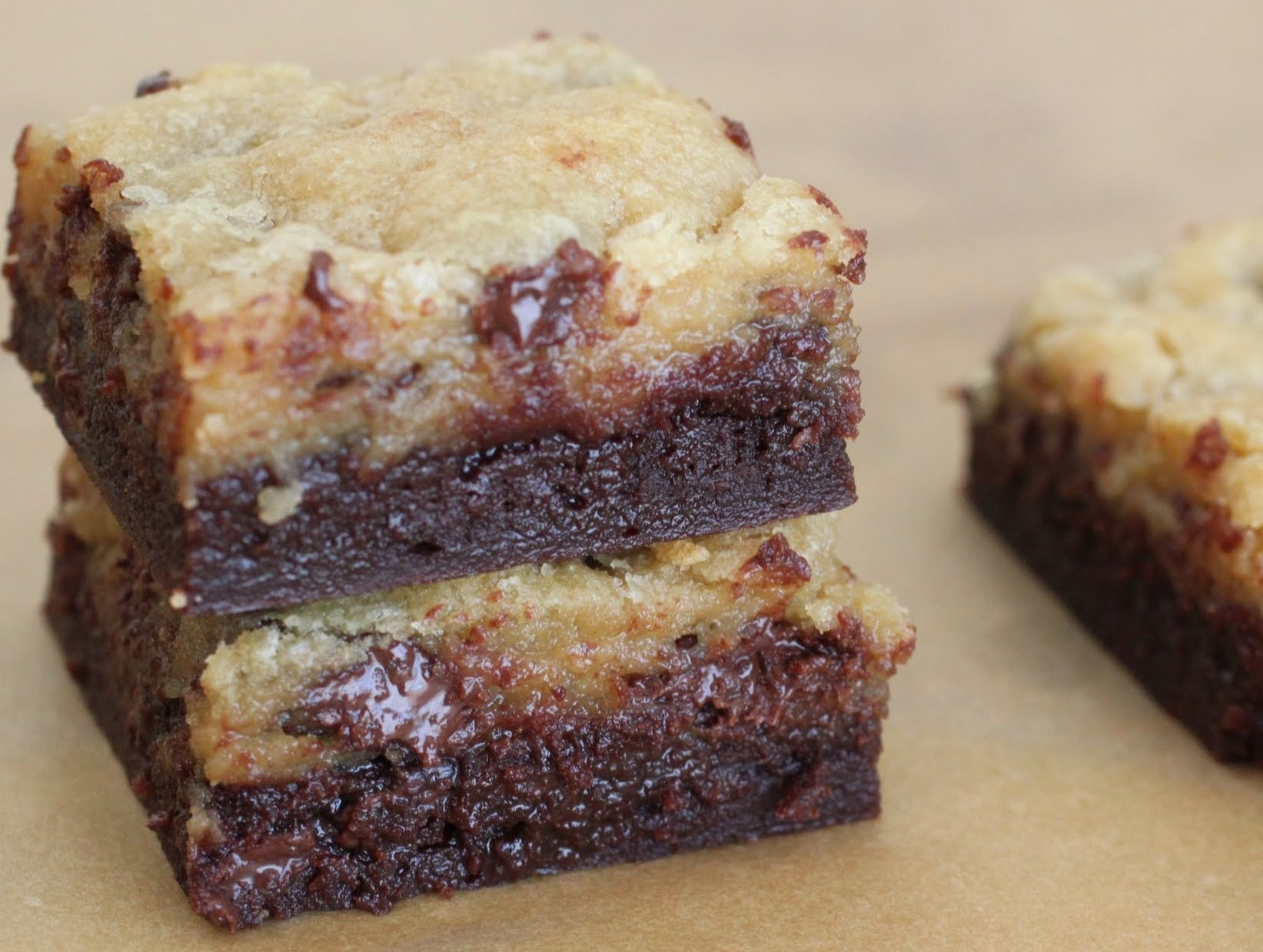 Double Chocolate Chip Bars