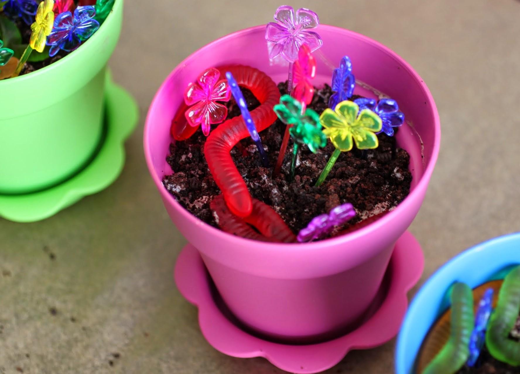 Flowerpot Mousse