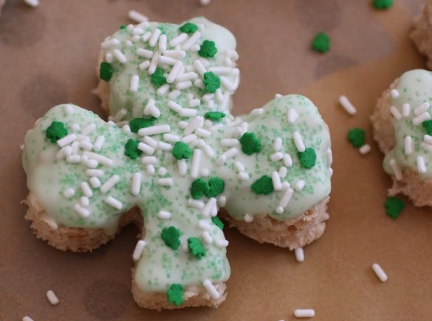 Shamrock Krispy Treats