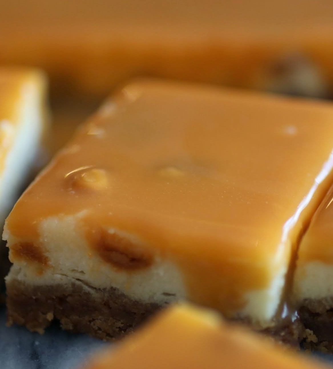 Butterscotch Cheesecake Bars