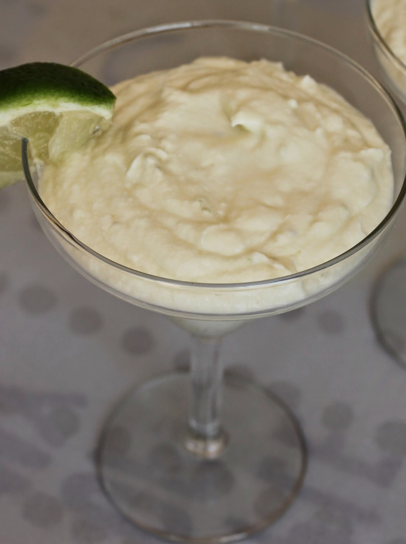 Key Lime White Chocolate Mousse