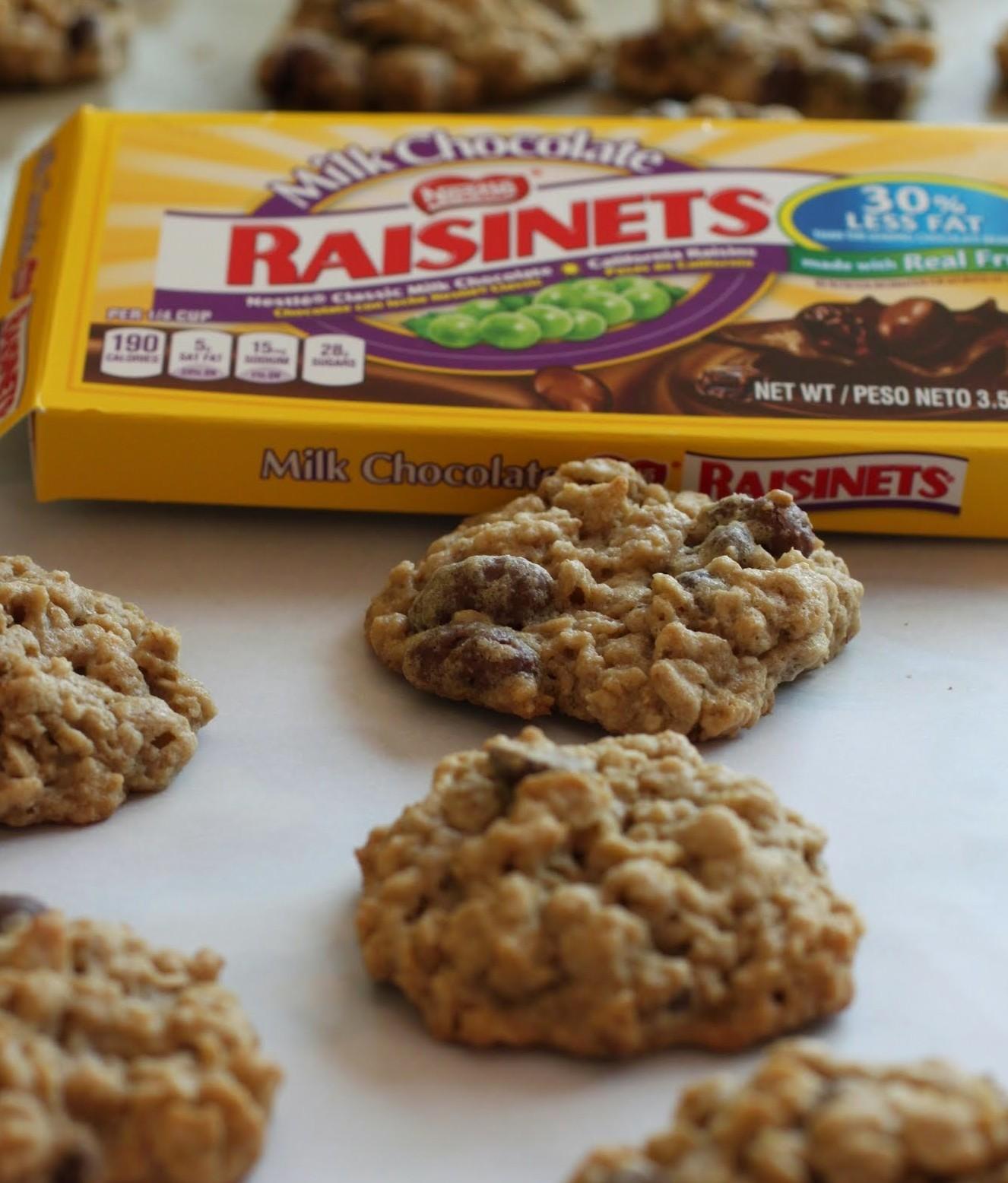 Oatmeal Rasinette Cookies