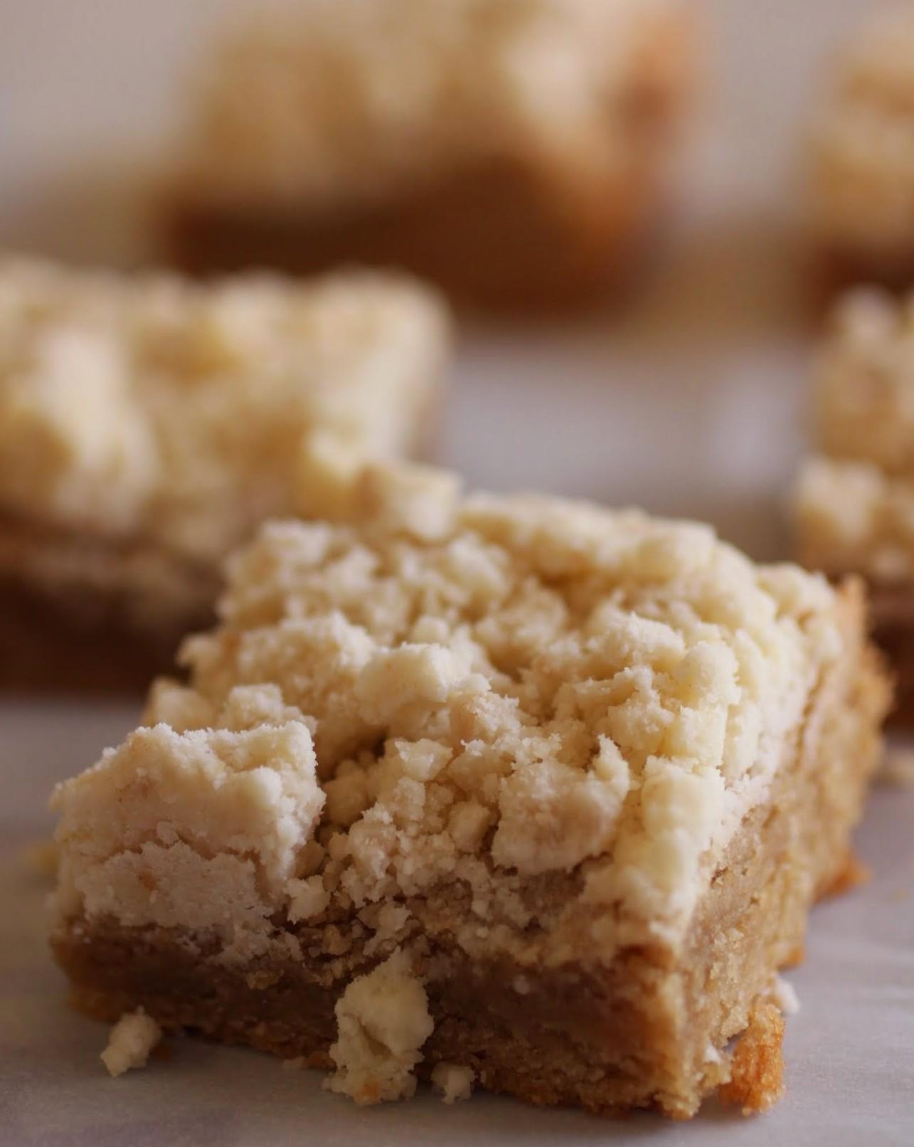 Peanut Butter Crumb Bars