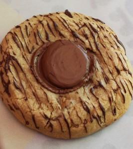 Mega Peanut Butter Cup Cookie