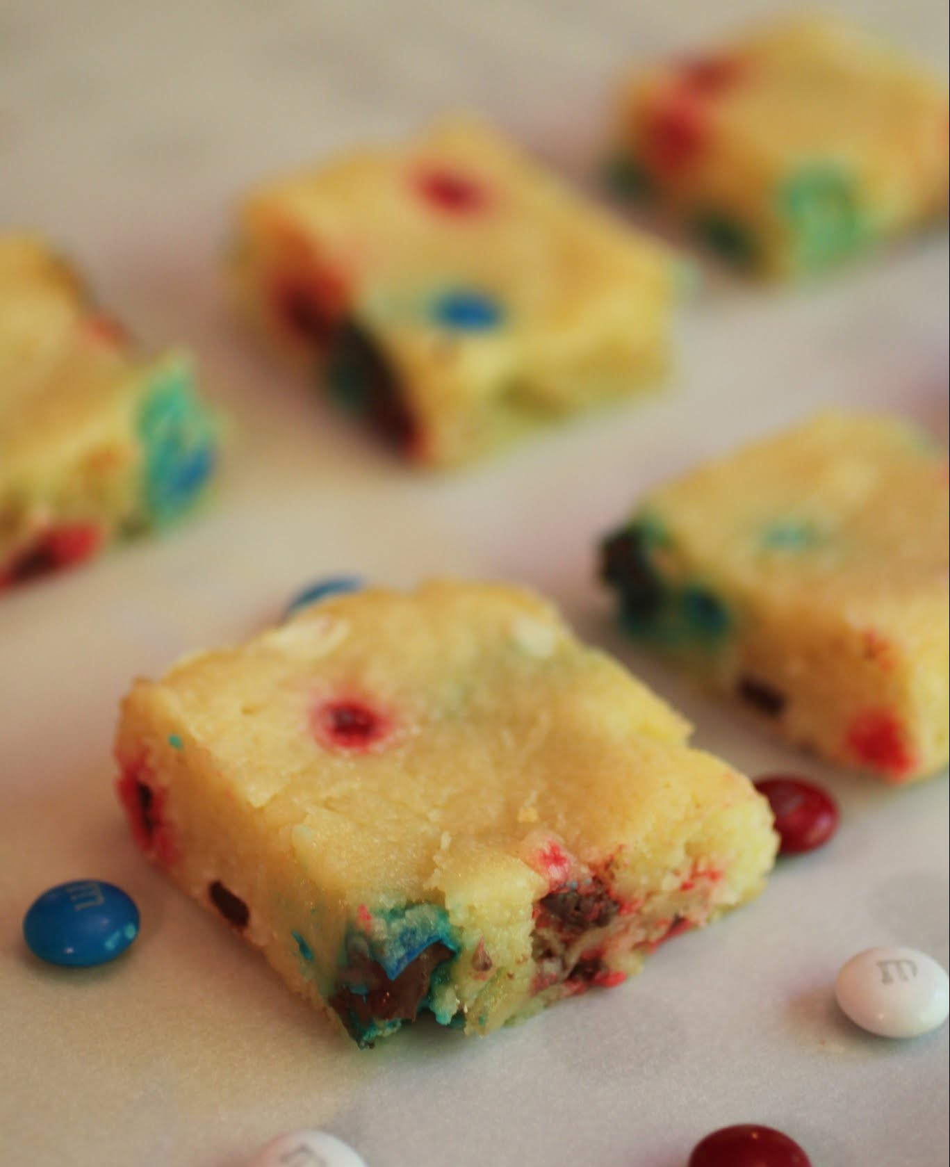 Red, White and Blue Bars