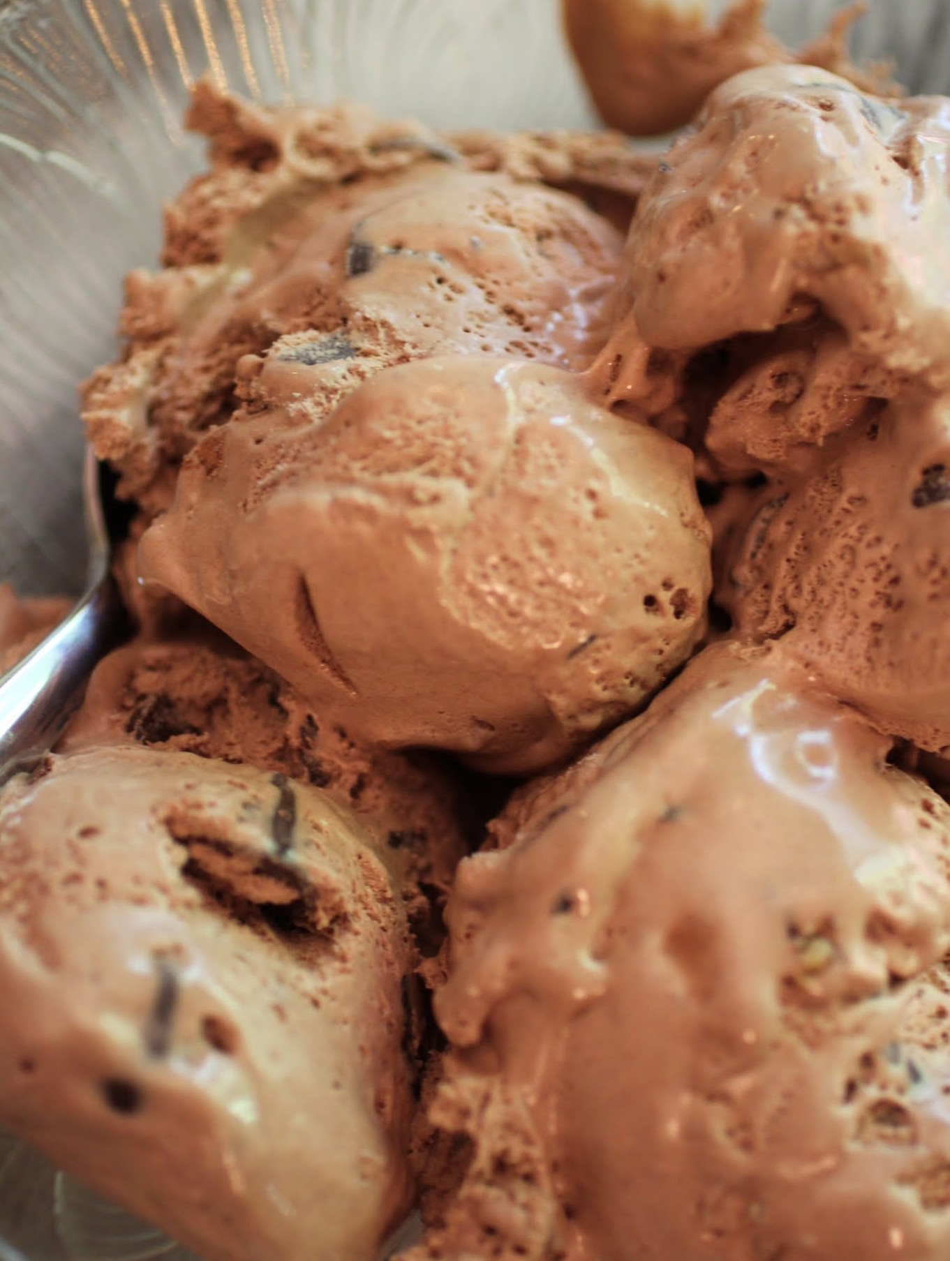 Chocolate Cherry Chip Walnut Ice Cream