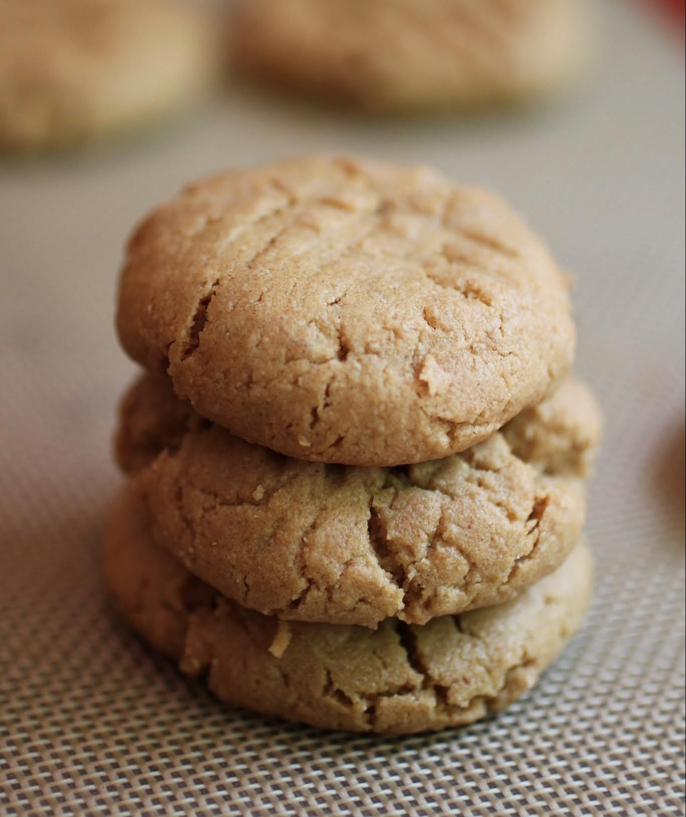 The Best Vegan, Gluten-Free PB Cookies