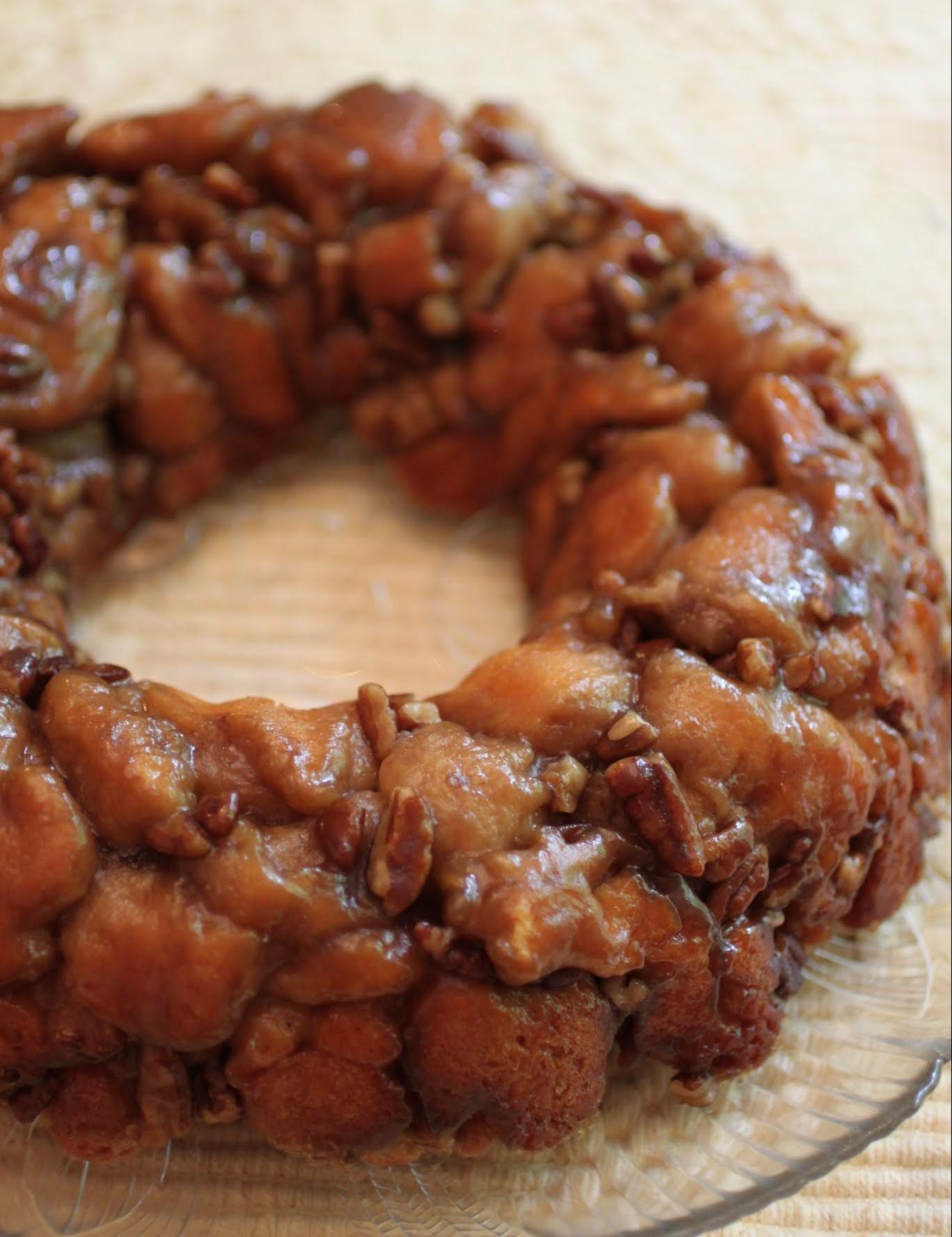 Salted Caramel Pecan Pastry Ring