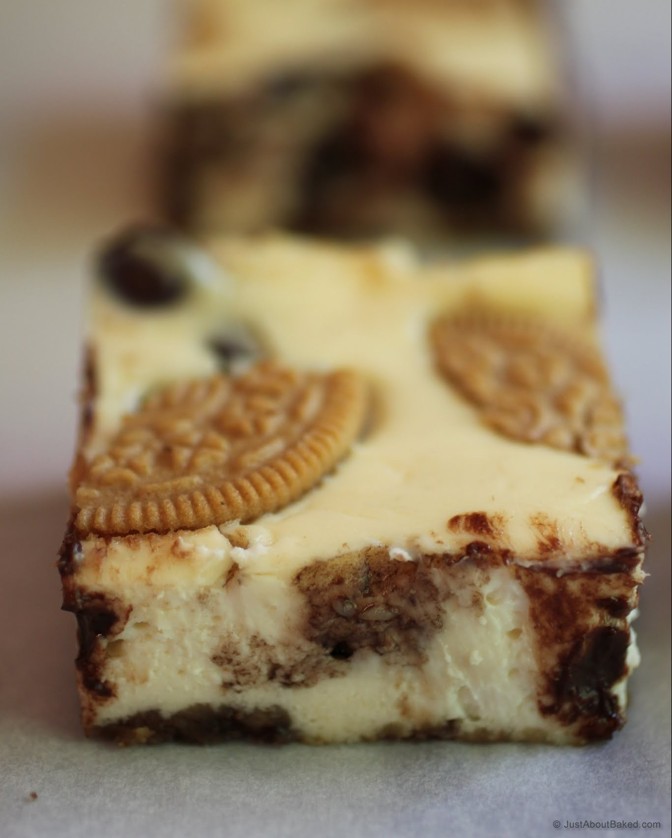 S'moreo Cheesecake Bars
