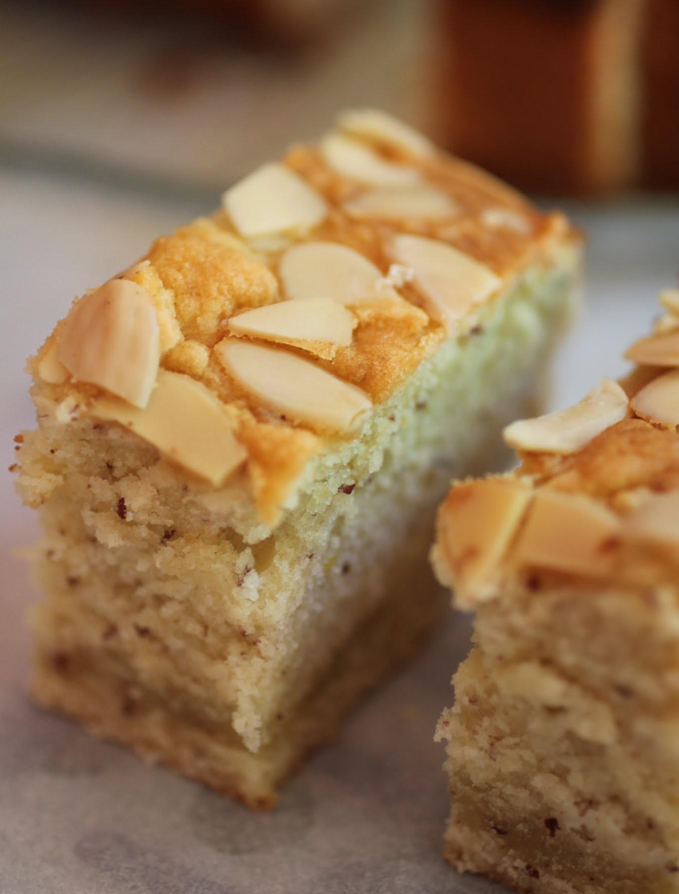 Almond Half-Pound Cake
