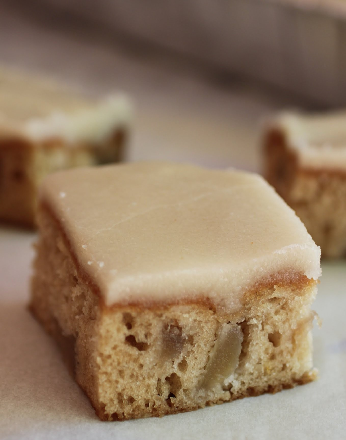 Easy Apple Cake With Brown Butter Icing