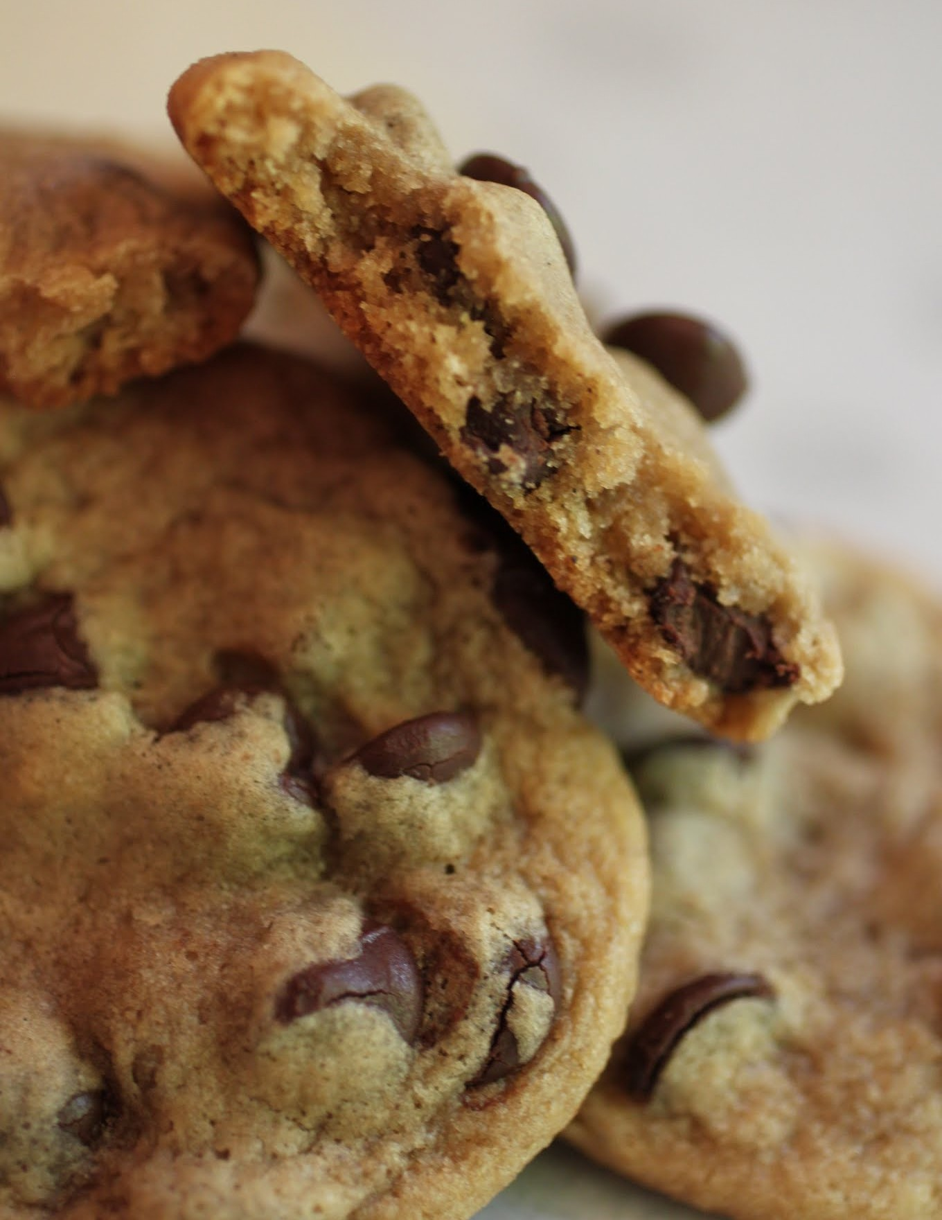 Cinnamon PB Chocolate Chip Cookies