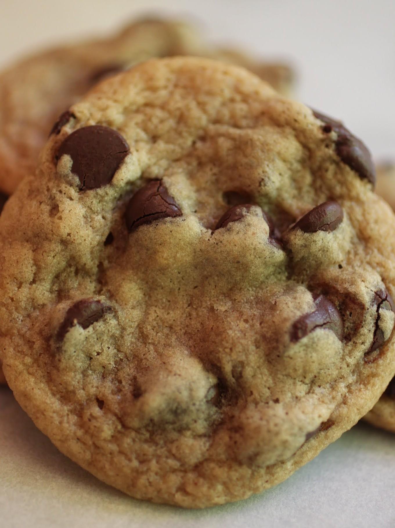 Cinnamon PB Chocolate Chip Cookies