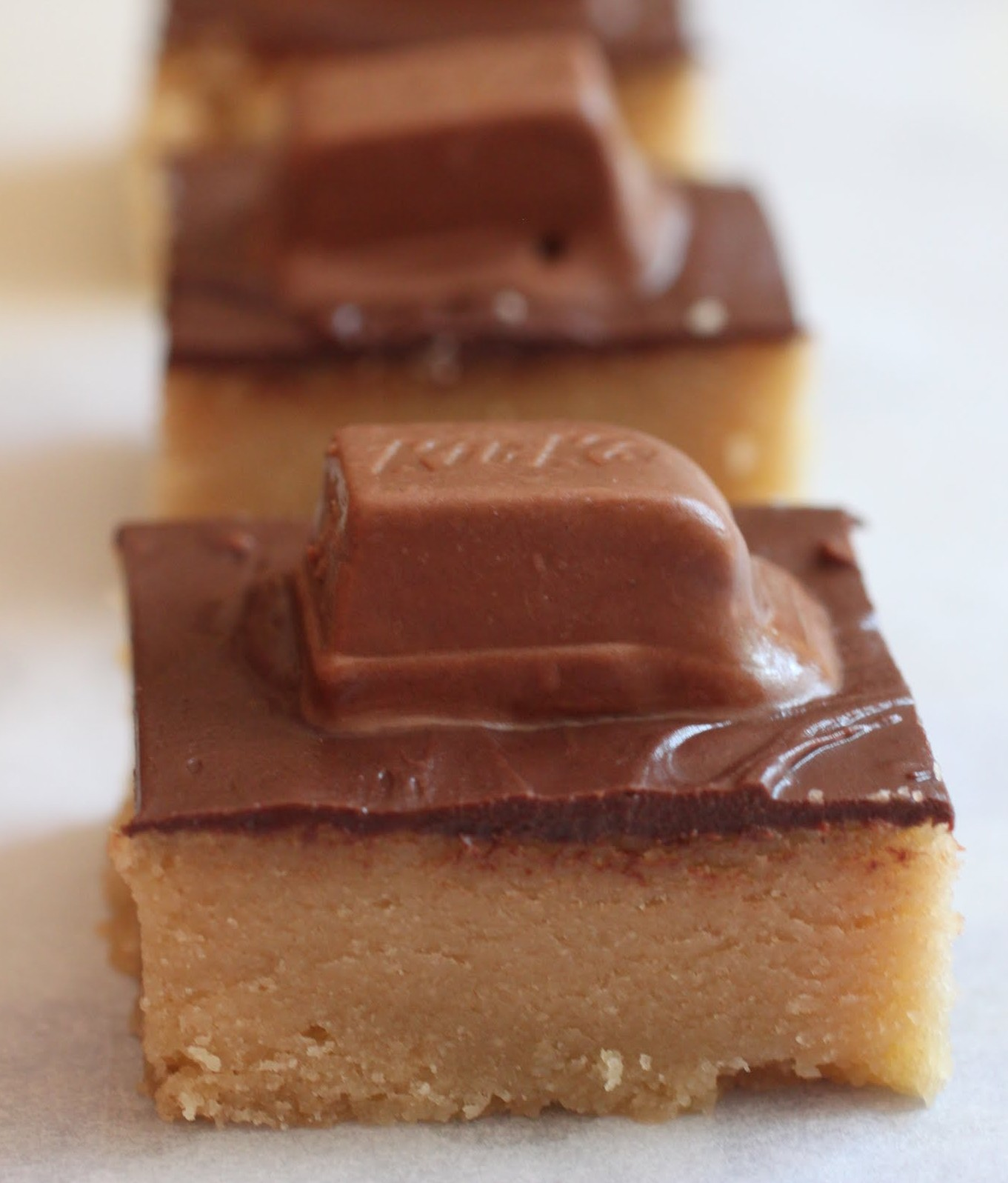 Kit Kat Cookie Bars
