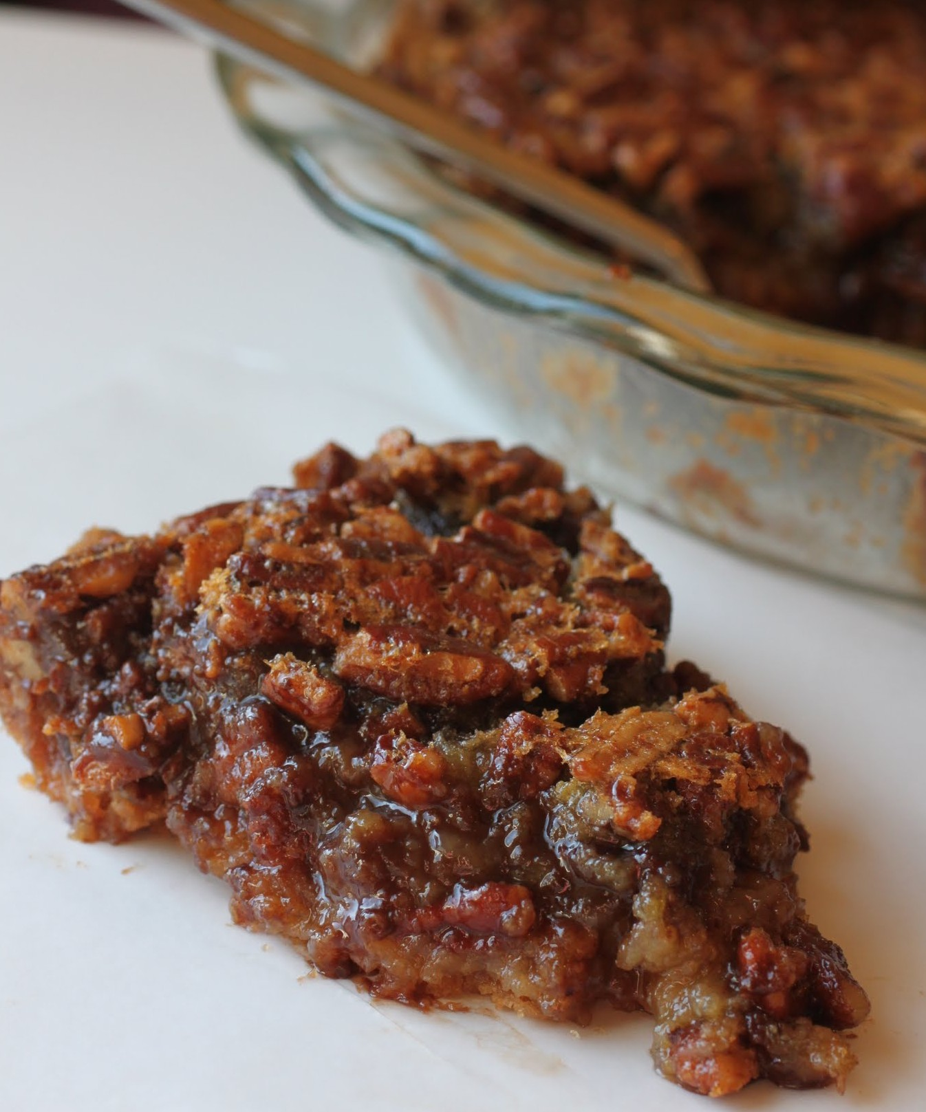 Chocolate Pecan Pie | Just About Baked