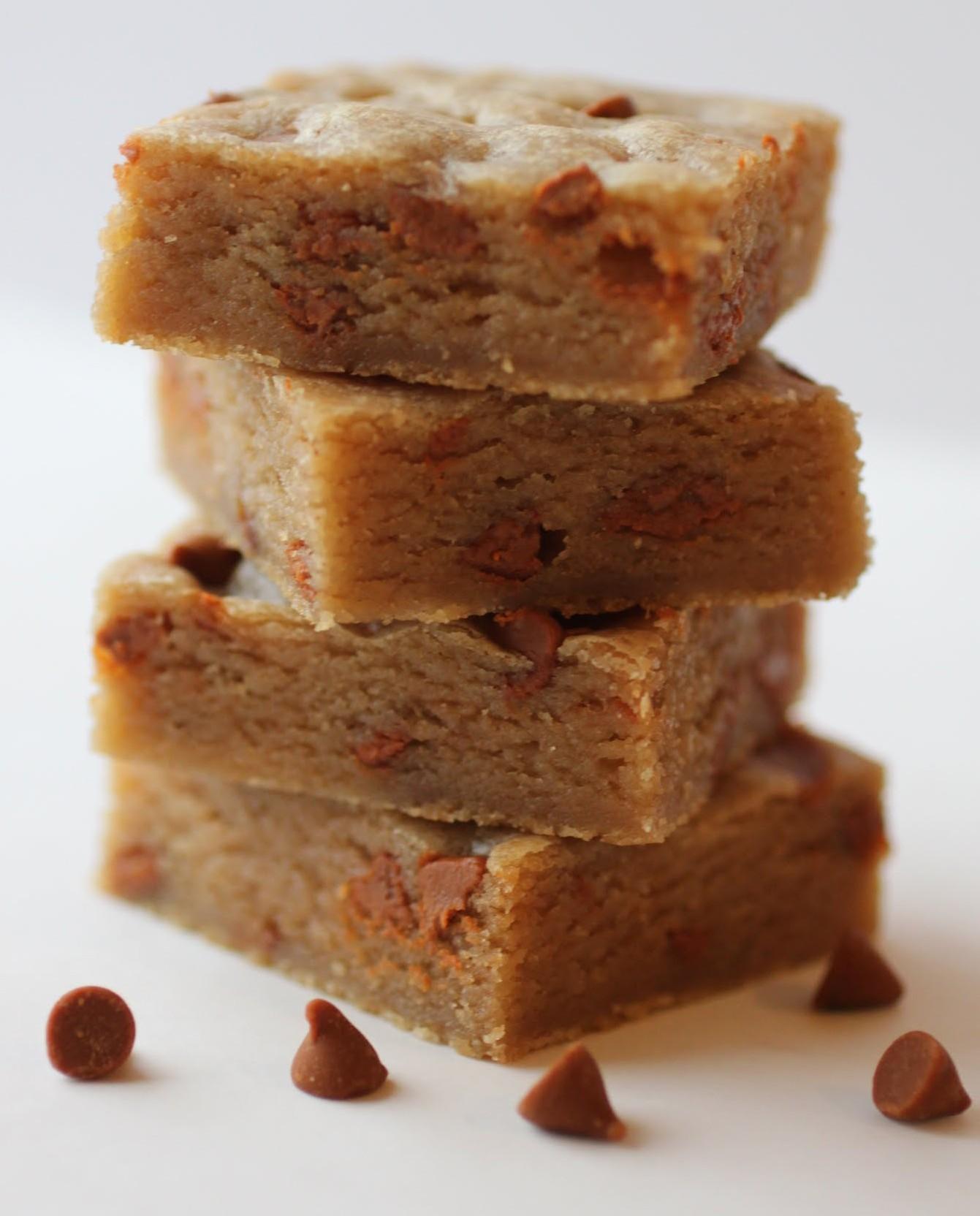Brown Butter Cinnamon Chip Blondies