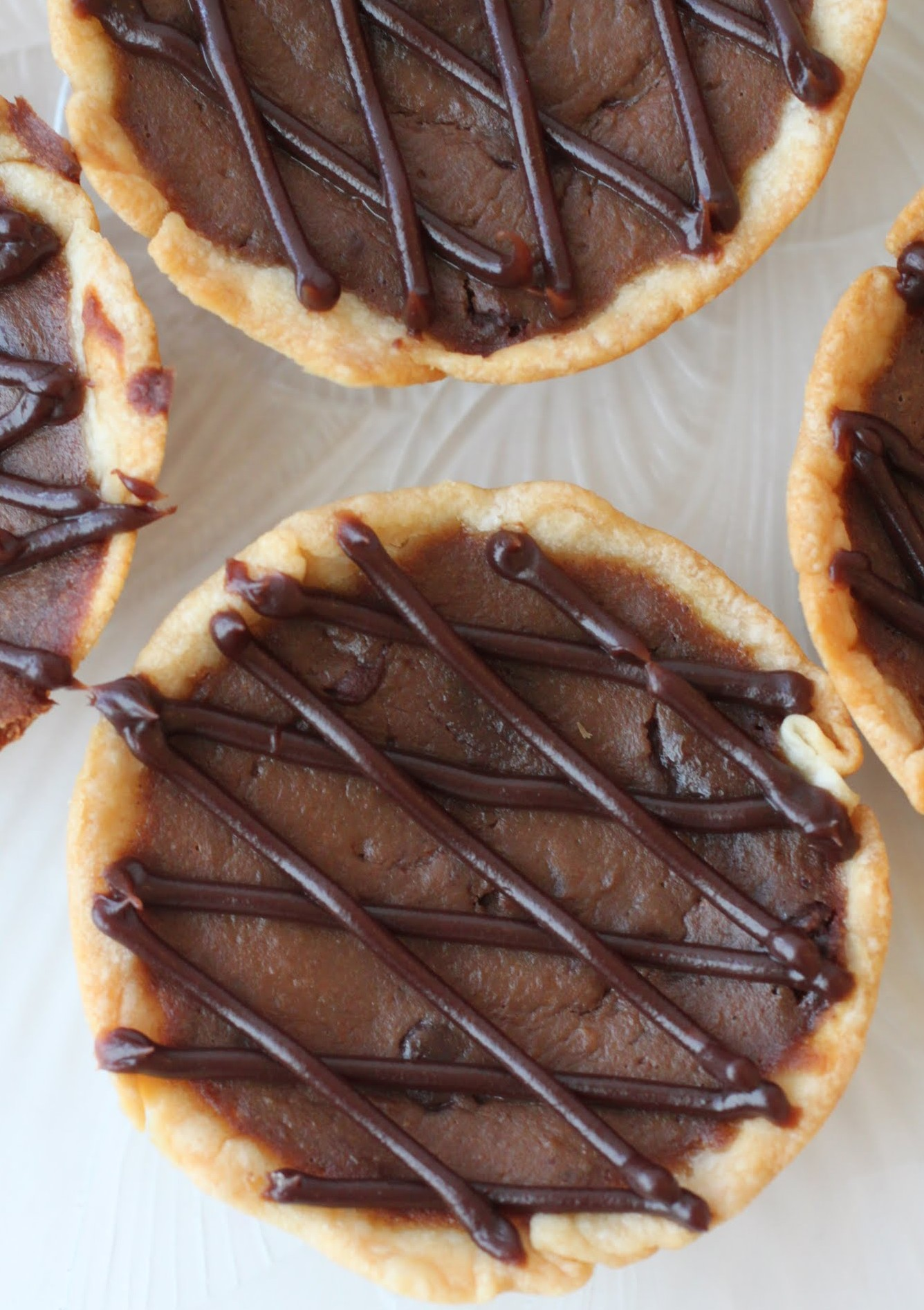 Mini Chocolate Pumpkin Pies