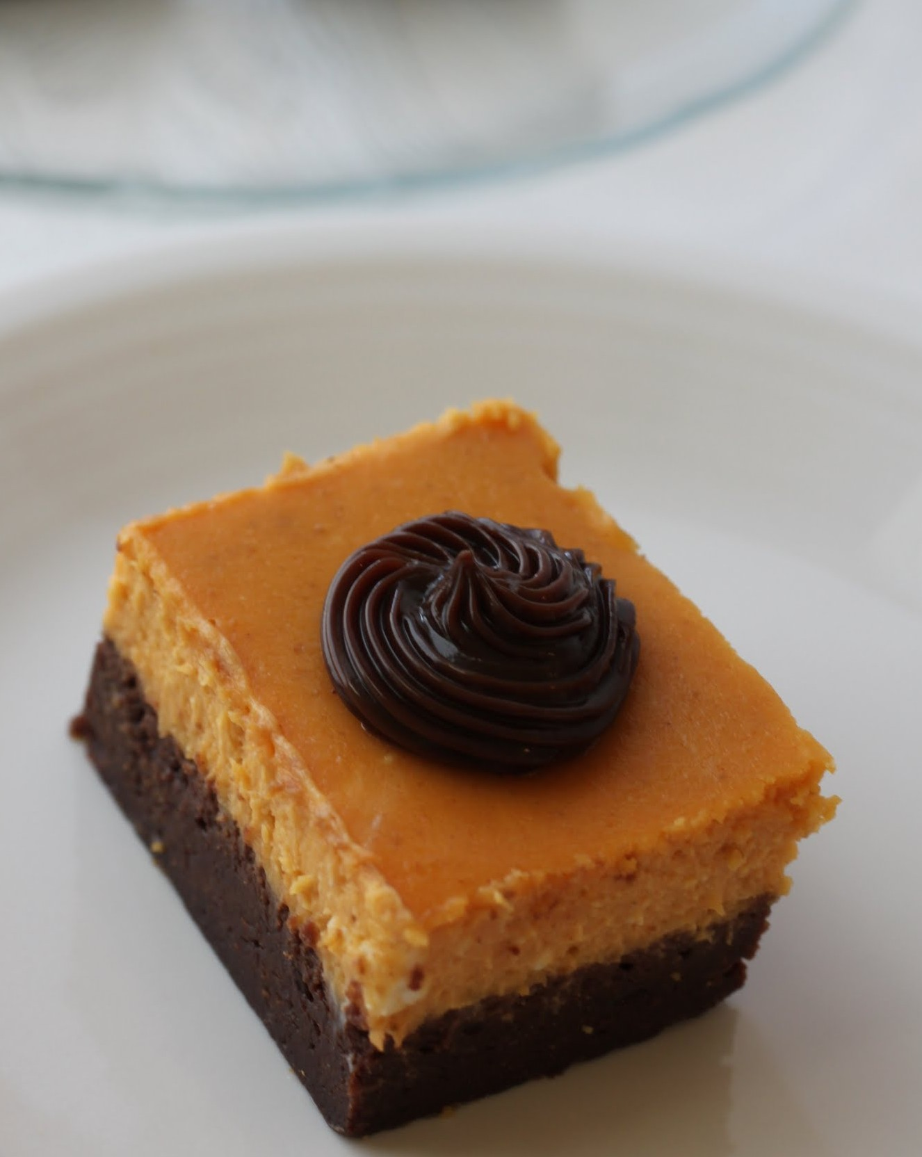 Pumpkin Cheesecake Brownie Bars