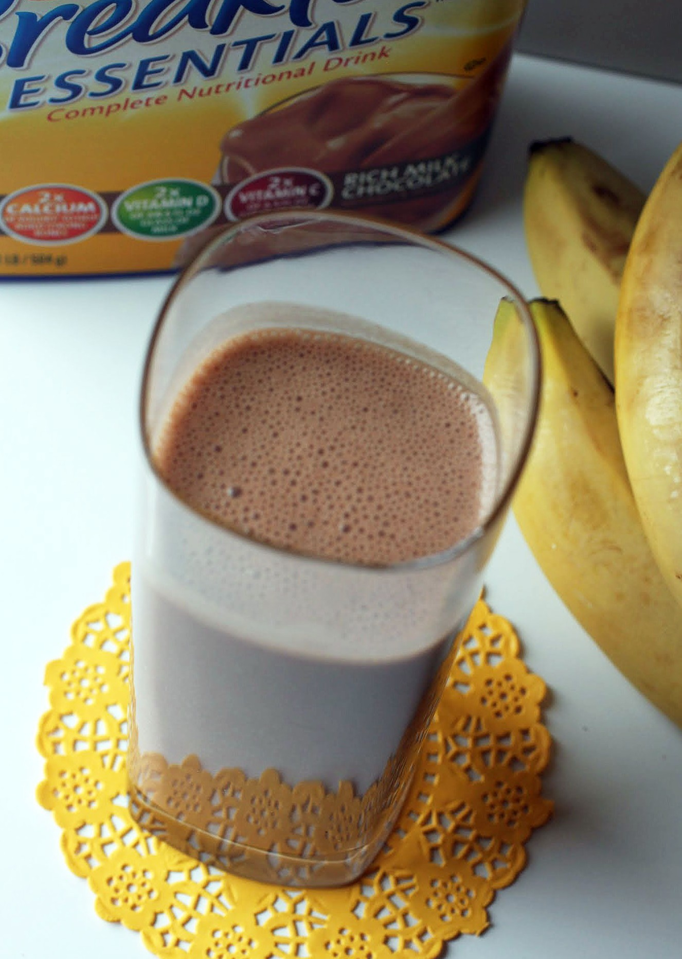 PB Chocolate Banana Breakfast Smoothie