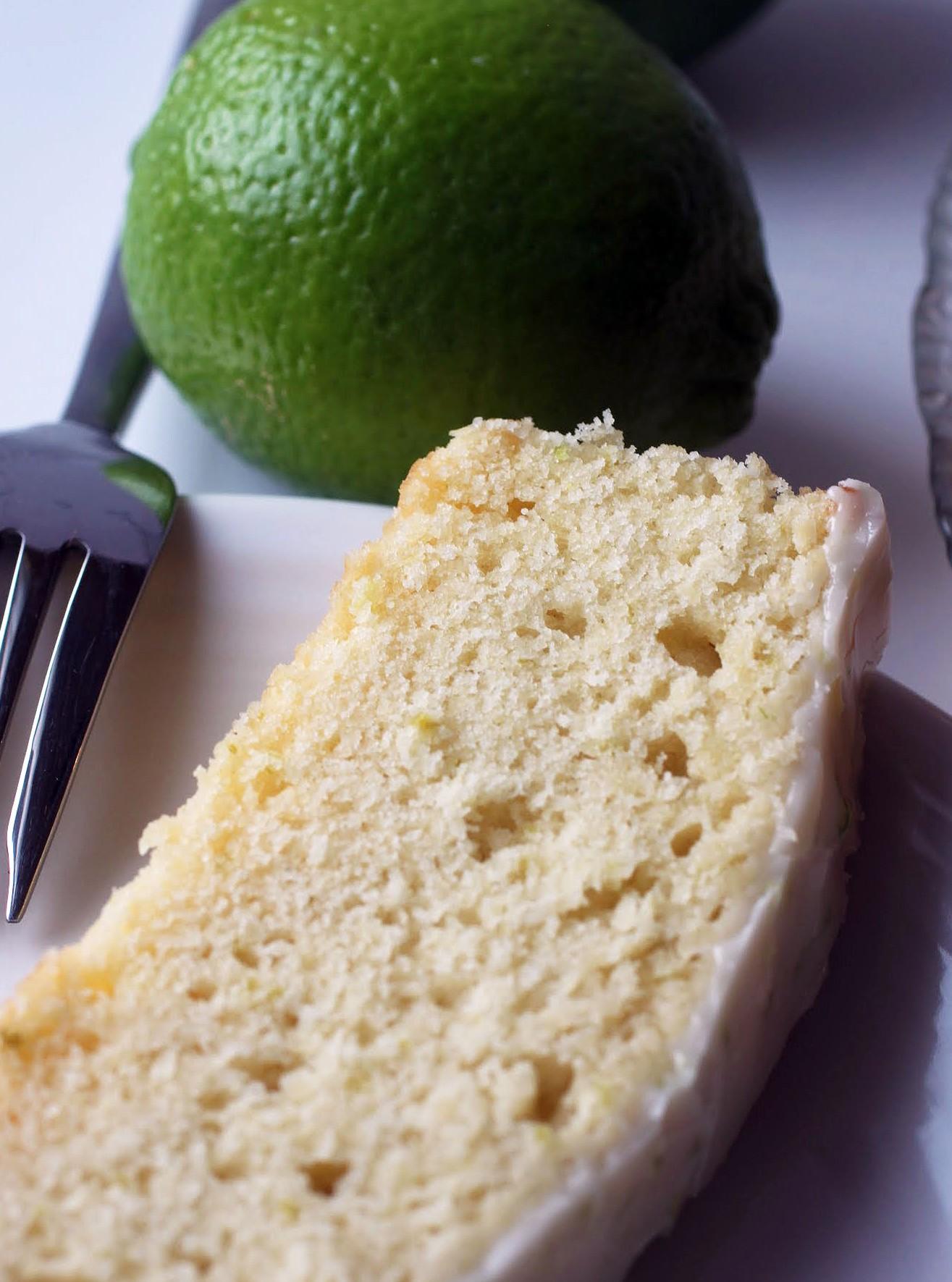 Lime Loaf Cake