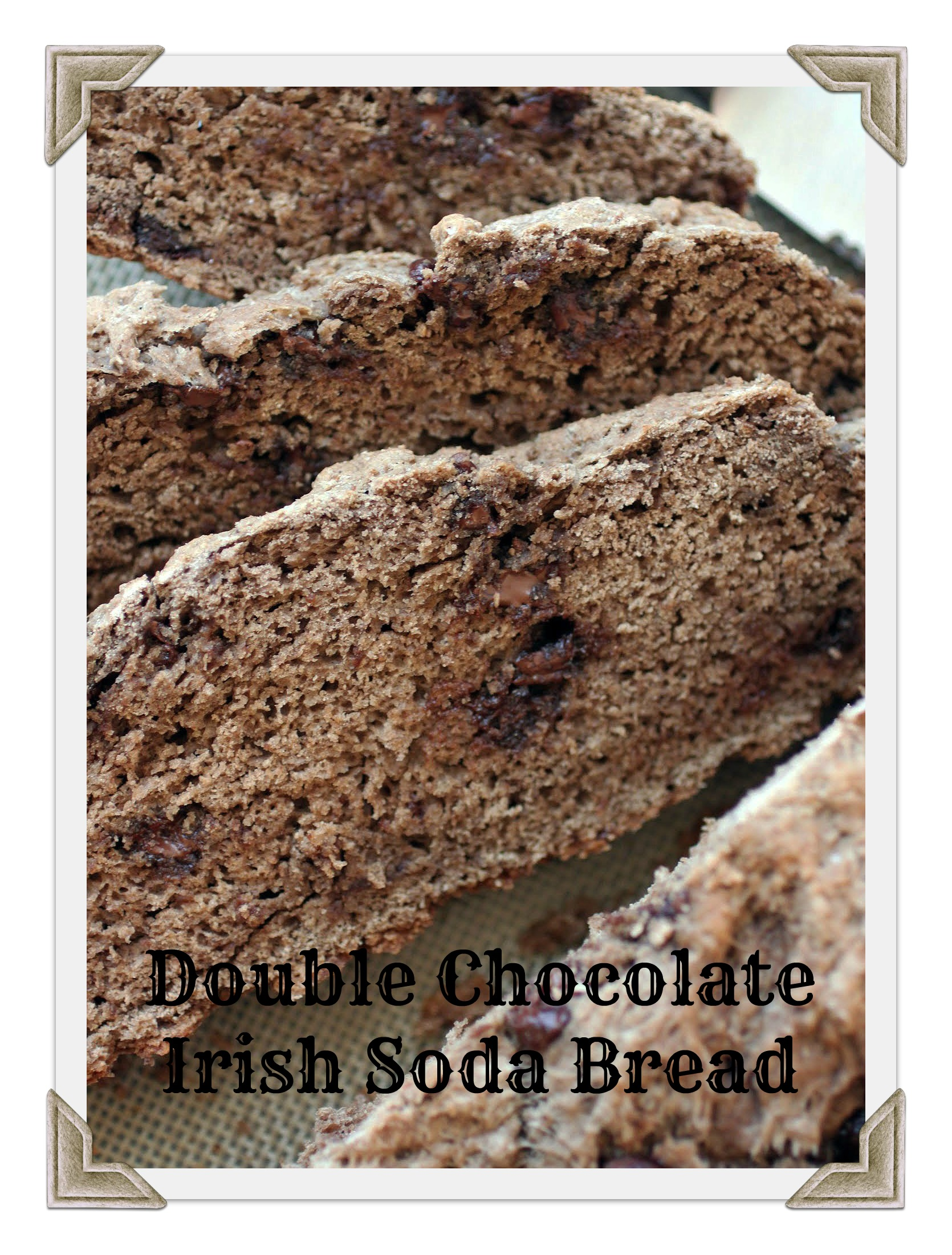 Double Chocolate Irish Soda Bread | Just About Baked