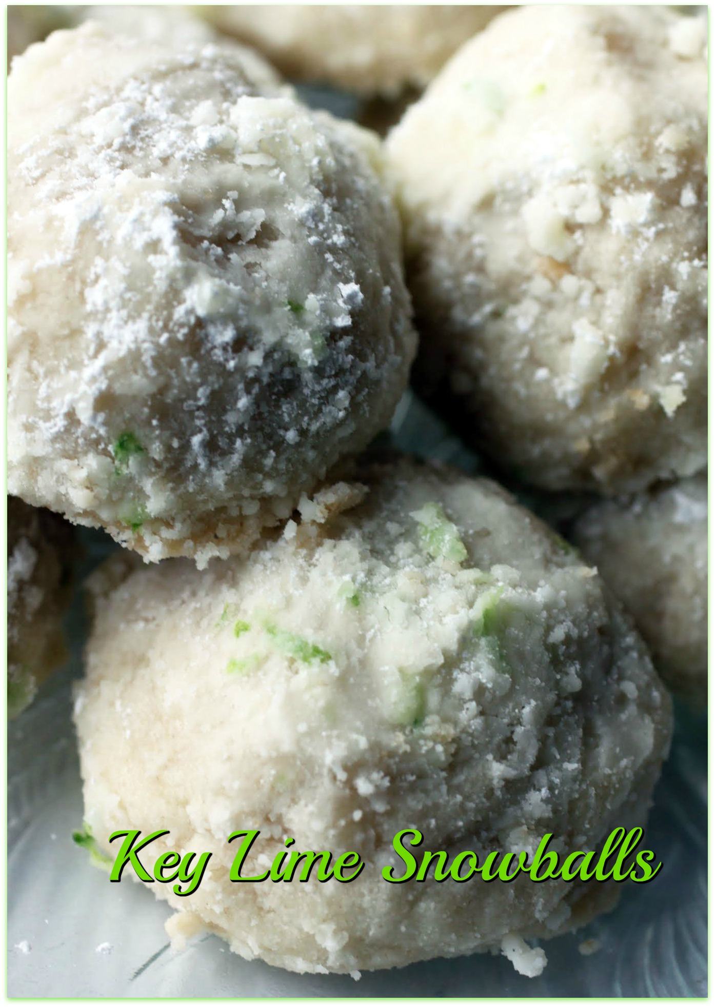 Key Lime Snowballs