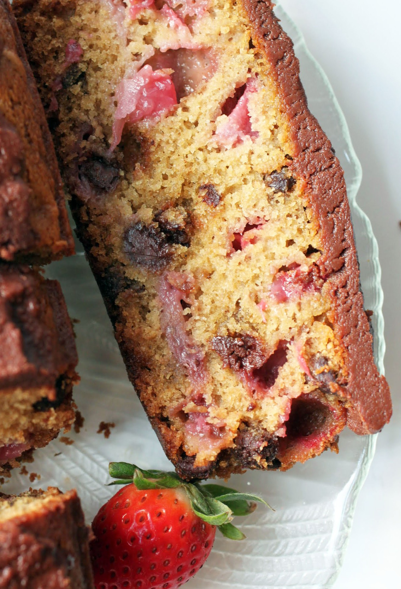 Chocolate-Covered Strawberry Bread